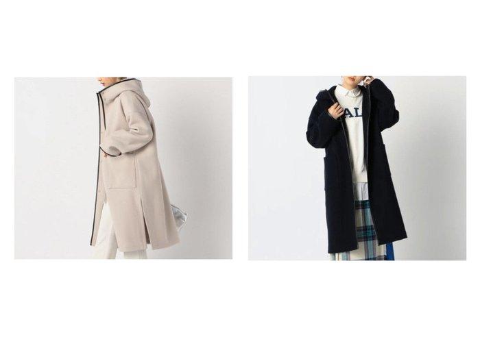 【NOLLEY'S/ノーリーズ】のジャージーメルトンパイピングコート アウターのおすすめ!人気、トレンド・レディースファッションの通販 おすすめファッション通販アイテム レディースファッション・服の通販 founy(ファニー) ファッション Fashion レディースファッション WOMEN アウター Coat Outerwear コート Coats ショルダー ジャージー スタンド ドロップ パイピング フェイクレザー ボックス メルトン |ID:crp329100000013024