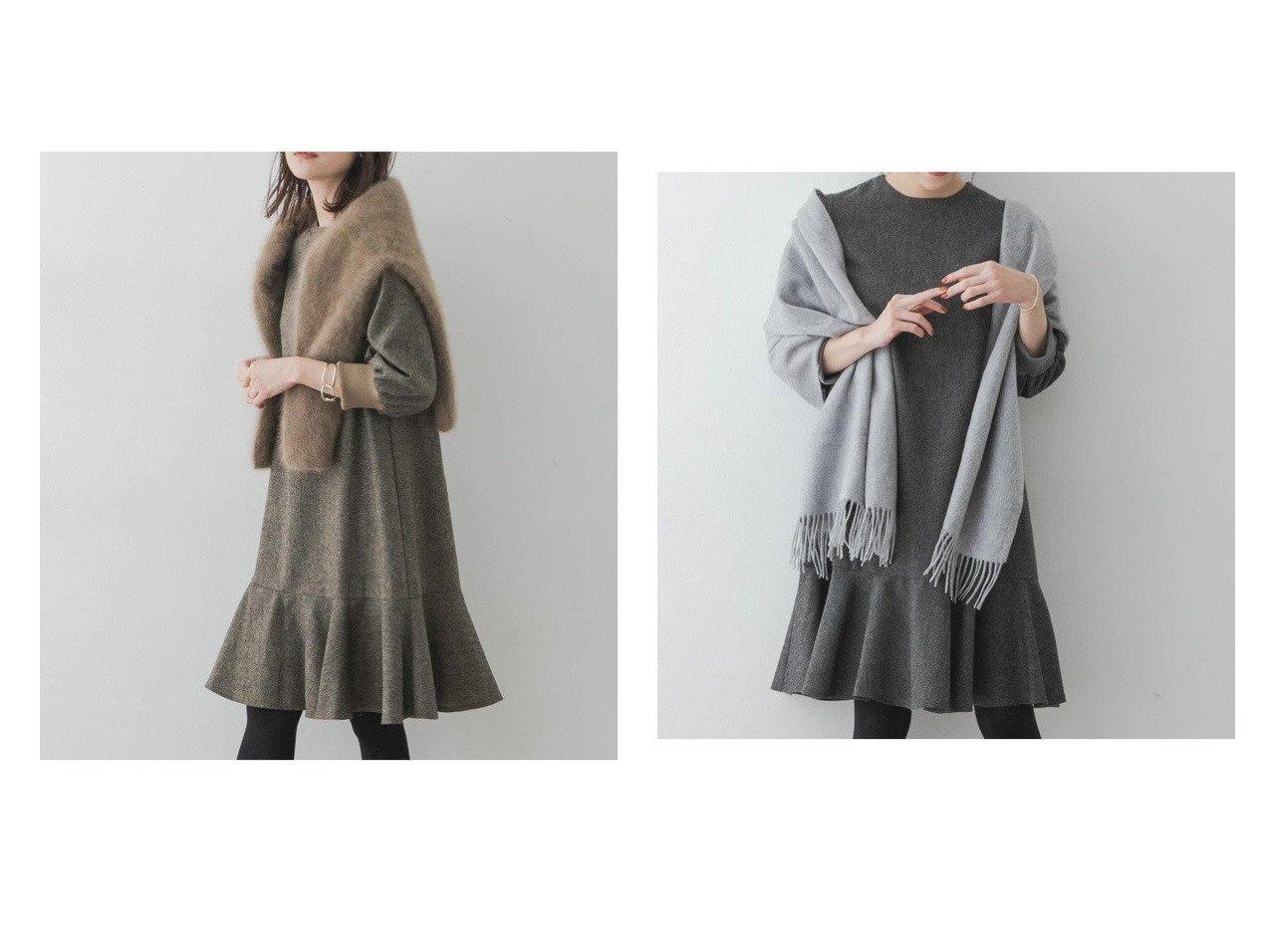 【URBAN RESEARCH ROSSO/アーバンリサーチ ロッソ】のF by ROSSO ツイード裾フレアワンピース ワンピース・ドレスのおすすめ!人気、トレンド・レディースファッションの通販 おすすめで人気の流行・トレンド、ファッションの通販商品 メンズファッション・キッズファッション・インテリア・家具・レディースファッション・服の通販 founy(ファニー) https://founy.com/ ファッション Fashion レディースファッション WOMEN ワンピース Dress スニーカー ツイード トレンド フェミニン フレア ポケット 人気 |ID:crp329100000013051