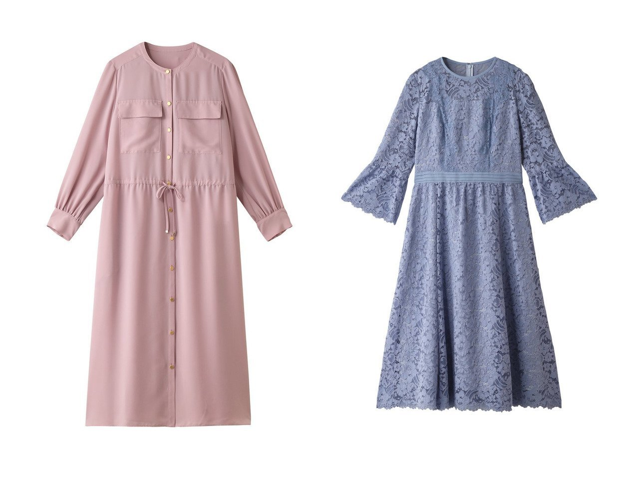 【ANAYI/アナイ】のドレープファイユクルーネックワンピース&フラワーコードレースフレアワンピース ワンピース・ドレスのおすすめ!人気、トレンド・レディースファッションの通販 おすすめで人気の流行・トレンド、ファッションの通販商品 メンズファッション・キッズファッション・インテリア・家具・レディースファッション・服の通販 founy(ファニー) https://founy.com/ ファッション Fashion レディースファッション WOMEN ワンピース Dress エアリー スリット フラップ ポケット 再入荷 Restock/Back in Stock/Re Arrival |ID:crp329100000013075