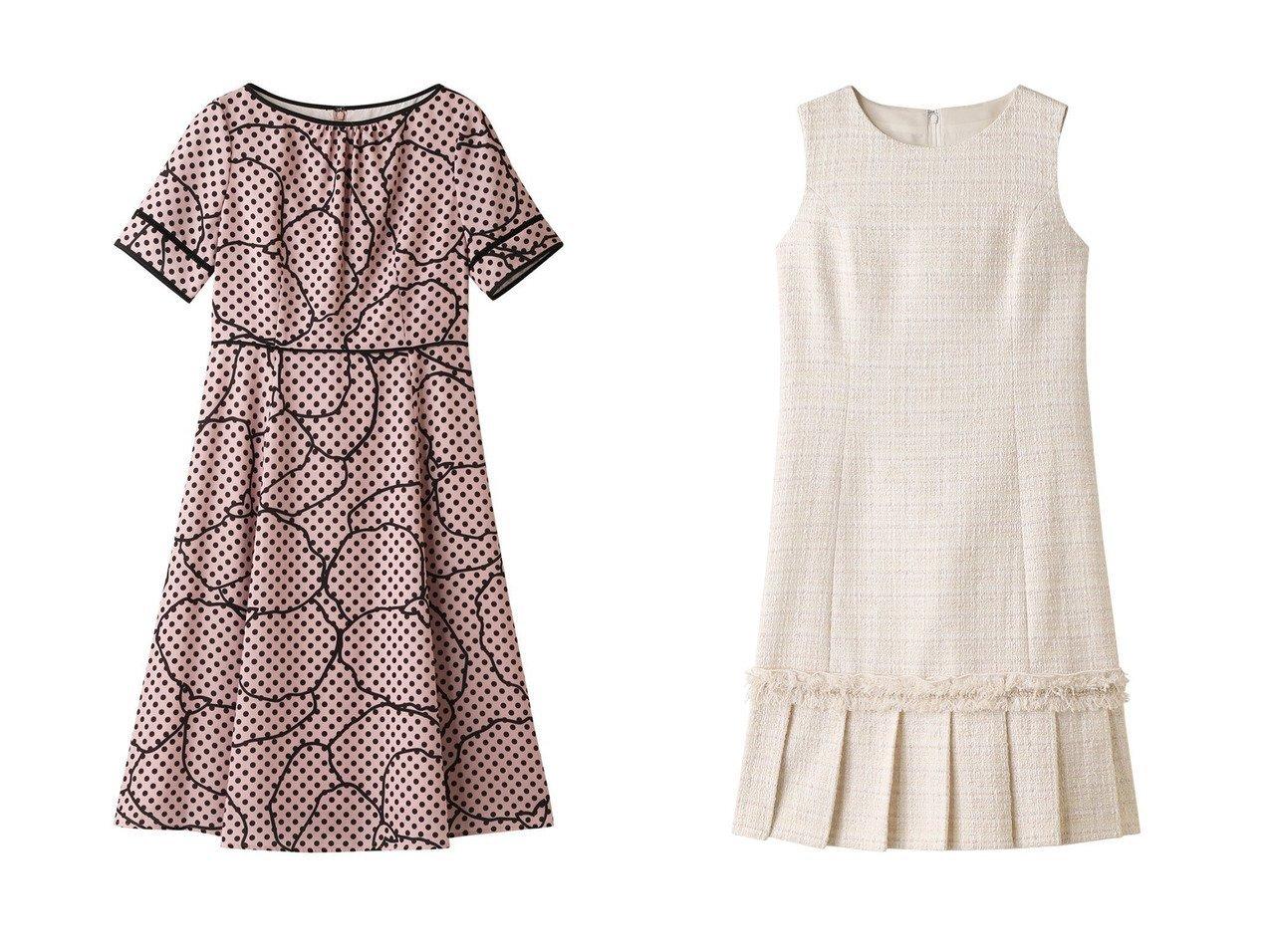 【ANAYI/アナイ】のドットラインフラワーPTフレアワンピース&リボンヤーンツイードAラインワンピース ワンピース・ドレスのおすすめ!人気、トレンド・レディースファッションの通販 おすすめで人気の流行・トレンド、ファッションの通販商品 メンズファッション・キッズファッション・インテリア・家具・レディースファッション・服の通販 founy(ファニー) https://founy.com/ ファッション Fashion レディースファッション WOMEN ワンピース Dress Aラインワンピース A-line Dress フリンジ プリーツ ロング 再入荷 Restock/Back in Stock/Re Arrival |ID:crp329100000013083
