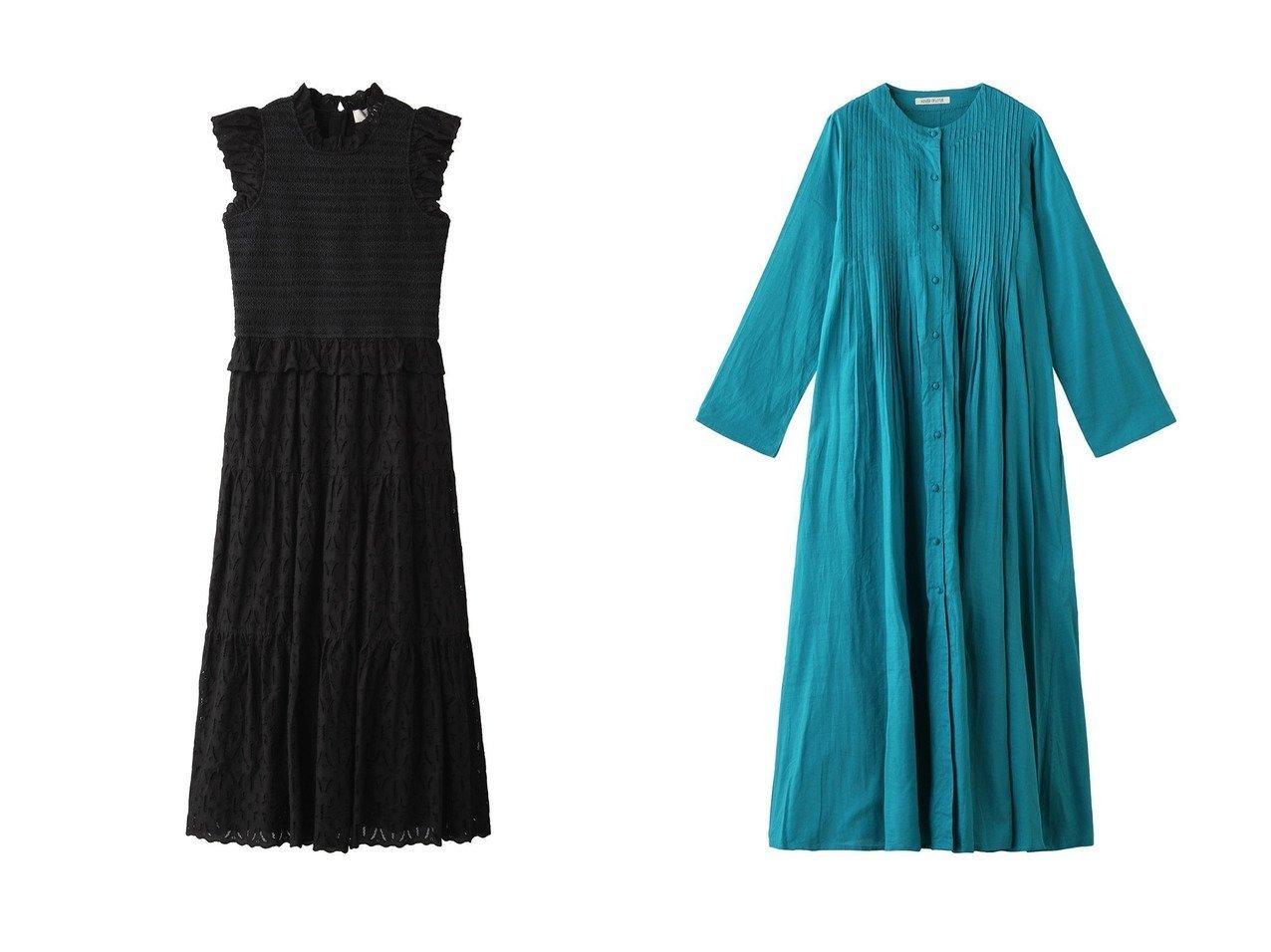 【HOUSE OF LOTUS/ハウス オブ ロータス】のカディコットンタックワンピース&【Sea NEW YORK/シー ニューヨーク】のIngrid スモックミディドレス ワンピース・ドレスのおすすめ!人気、トレンド・レディースファッションの通販 おすすめで人気の流行・トレンド、ファッションの通販商品 メンズファッション・キッズファッション・インテリア・家具・レディースファッション・服の通販 founy(ファニー) https://founy.com/ ファッション Fashion レディースファッション WOMEN ワンピース Dress ドレス Party Dresses 2021年 2021 2021 春夏 S/S SS Spring/Summer 2021 S/S 春夏 SS Spring/Summer スリム ドレス パーティ フリル フレア ロング 春 Spring |ID:crp329100000013084