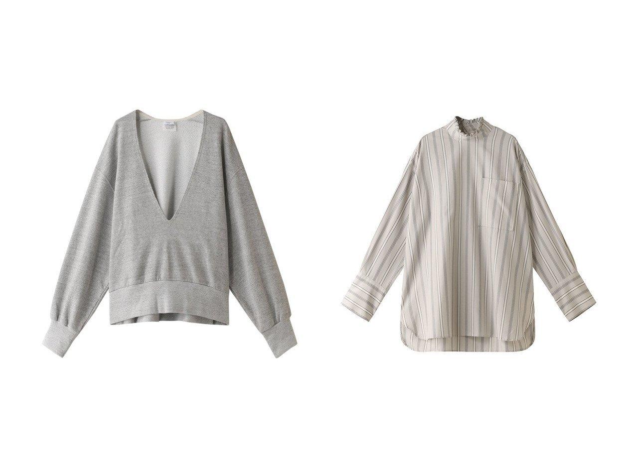 【Shinzone/シンゾーン】のコットンVネックスウェットプルオーバー&ハイネックフリルブラウス トップス・カットソーのおすすめ!人気、トレンド・レディースファッションの通販 おすすめで人気の流行・トレンド、ファッションの通販商品 メンズファッション・キッズファッション・インテリア・家具・レディースファッション・服の通販 founy(ファニー) https://founy.com/ ファッション Fashion レディースファッション WOMEN トップス Tops Tshirt シャツ/ブラウス Shirts Blouses パーカ Sweats ロング / Tシャツ T-Shirts プルオーバー Pullover スウェット Sweat カットソー Cut and Sewn Vネック V-Neck 2021年 2021 2021 春夏 S/S SS Spring/Summer 2021 S/S 春夏 SS Spring/Summer フェミニン 春 Spring |ID:crp329100000013094