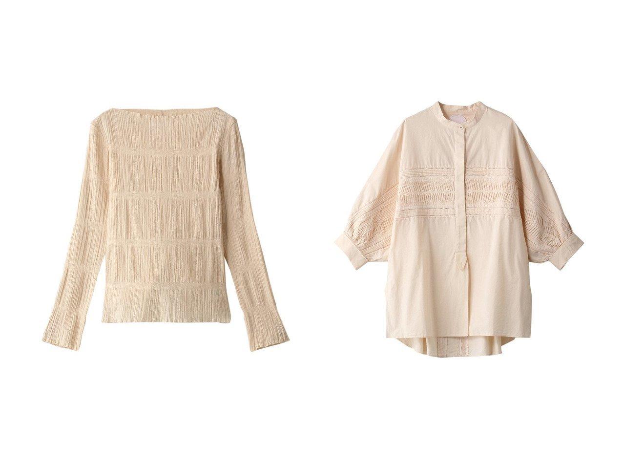 【Pheeta/フィータ】のTrinity スタンドカラーコットンブラウス&Vera ボートネッククレープブラウス トップス・カットソーのおすすめ!人気、トレンド・レディースファッションの通販 おすすめで人気の流行・トレンド、ファッションの通販商品 メンズファッション・キッズファッション・インテリア・家具・レディースファッション・服の通販 founy(ファニー) https://founy.com/ ファッション Fashion レディースファッション WOMEN トップス Tops Tshirt シャツ/ブラウス Shirts Blouses 2021年 2021 2021 春夏 S/S SS Spring/Summer 2021 S/S 春夏 SS Spring/Summer コンパクト スリーブ バランス フォルム ロング 春 Spring |ID:crp329100000013095