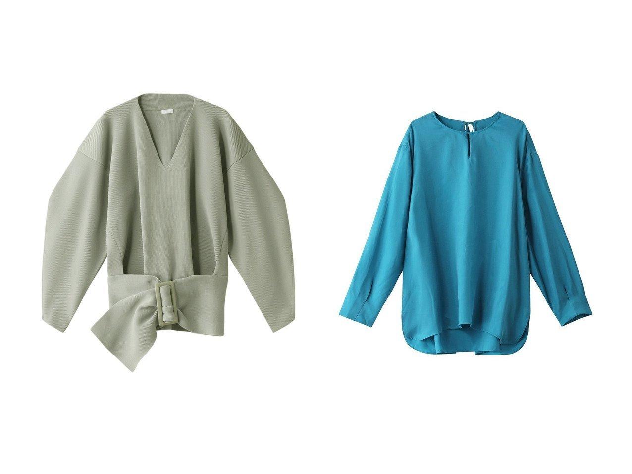 【HOUSE OF LOTUS/ハウス オブ ロータス】のヴィンテージキュプラブラウス&【RITO/リト】のオーバーサイズベルテッドセーター トップス・カットソーのおすすめ!人気、トレンド・レディースファッションの通販 おすすめで人気の流行・トレンド、ファッションの通販商品 メンズファッション・キッズファッション・インテリア・家具・レディースファッション・服の通販 founy(ファニー) https://founy.com/ ファッション Fashion レディースファッション WOMEN トップス Tops Tshirt ニット Knit Tops プルオーバー Pullover シャツ/ブラウス Shirts Blouses 2021年 2021 2021 春夏 S/S SS Spring/Summer 2021 S/S 春夏 SS Spring/Summer セーター 春 Spring |ID:crp329100000013097