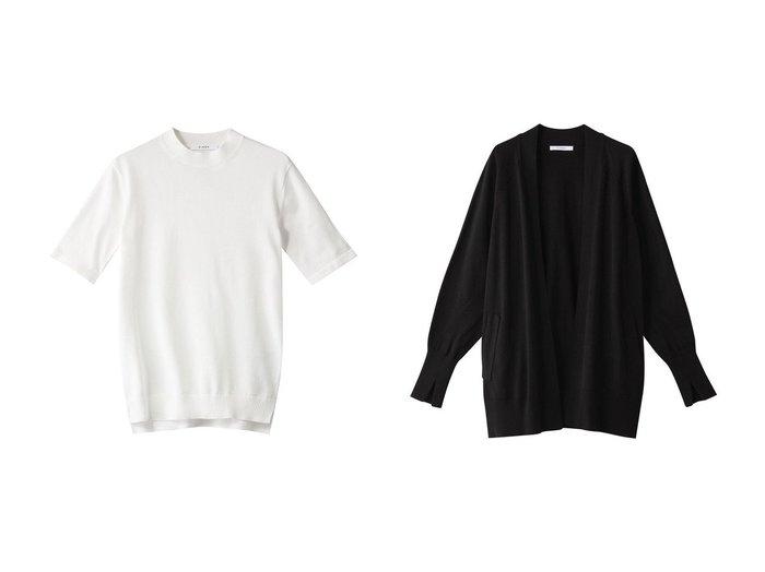 【CINOH/チノ】のスビンニットTシャツ&スビンニットカーディガン トップス・カットソーのおすすめ!人気、トレンド・レディースファッションの通販 おすすめファッション通販アイテム インテリア・キッズ・メンズ・レディースファッション・服の通販 founy(ファニー) https://founy.com/ ファッション Fashion レディースファッション WOMEN トップス Tops Tshirt ニット Knit Tops シャツ/ブラウス Shirts Blouses ロング / Tシャツ T-Shirts プルオーバー Pullover カーディガン Cardigans 2021年 2021 2021 春夏 S/S SS Spring/Summer 2021 S/S 春夏 SS Spring/Summer シンプル フィット 春 Spring  ID:crp329100000013100