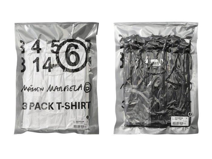 【MM6 Maison Martin Margiela/エムエム6 メゾン マルタン マルジェラ】のパッケージングピュアコットンジャージーTシャツ トップス・カットソーのおすすめ!人気、トレンド・レディースファッションの通販 おすすめファッション通販アイテム レディースファッション・服の通販 founy(ファニー) ファッション Fashion レディースファッション WOMEN トップス Tops Tshirt シャツ/ブラウス Shirts Blouses ロング / Tシャツ T-Shirts カットソー Cut and Sewn 2021年 2021 2021 春夏 S/S SS Spring/Summer 2021 S/S 春夏 SS Spring/Summer インナー ショート シンプル ジャージー スリーブ 春 Spring |ID:crp329100000013109