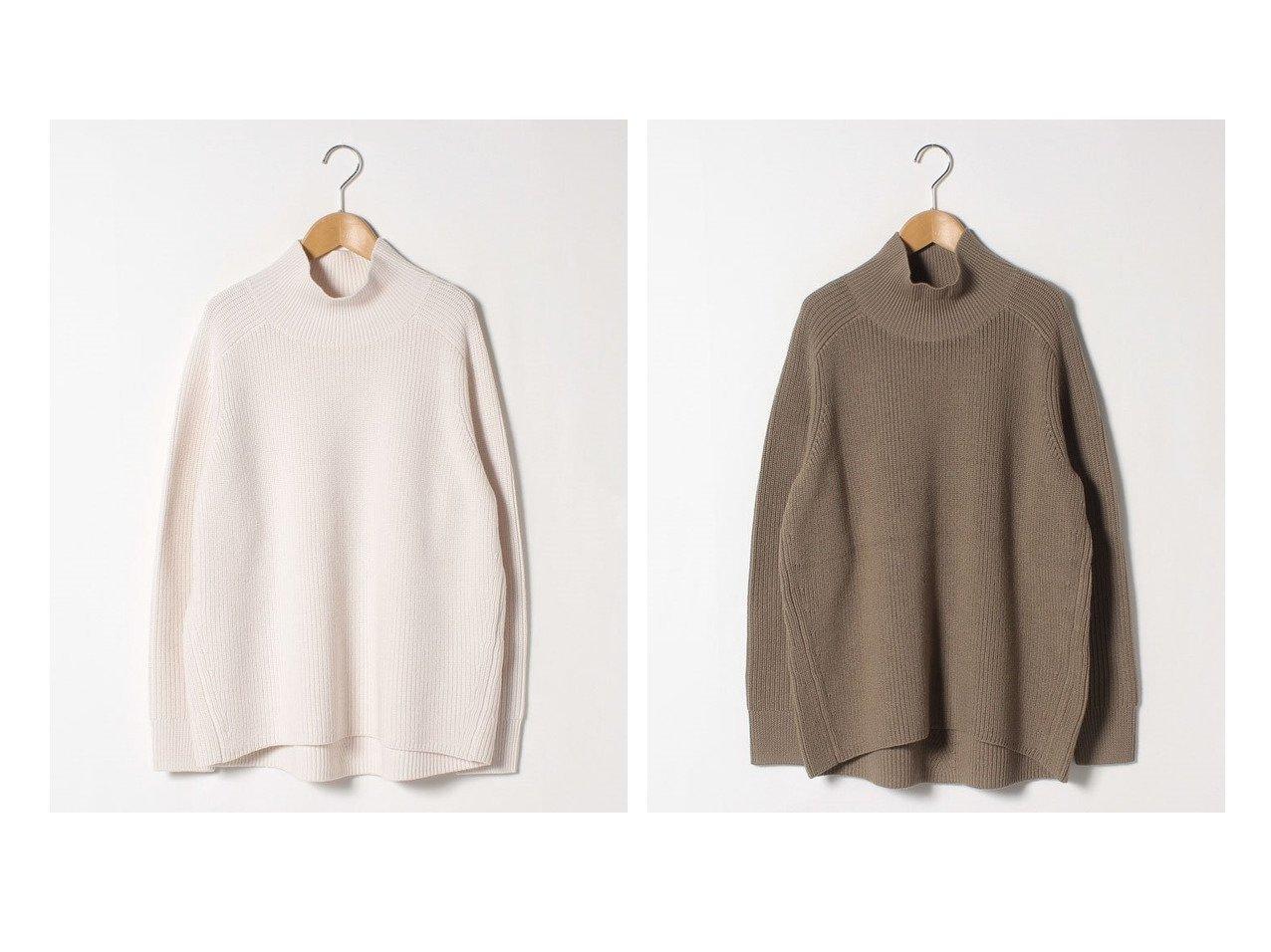 【Theory Luxe/セオリーリュクス】のニット ARIA ANELA トップス・カットソーのおすすめ!人気、トレンド・レディースファッションの通販 おすすめで人気の流行・トレンド、ファッションの通販商品 メンズファッション・キッズファッション・インテリア・家具・レディースファッション・服の通販 founy(ファニー) https://founy.com/ ファッション Fashion レディースファッション WOMEN トップス Tops Tshirt ニット Knit Tops ショルダー セーター ハイネック フィット ヘリンボーン ワイド |ID:crp329100000013152