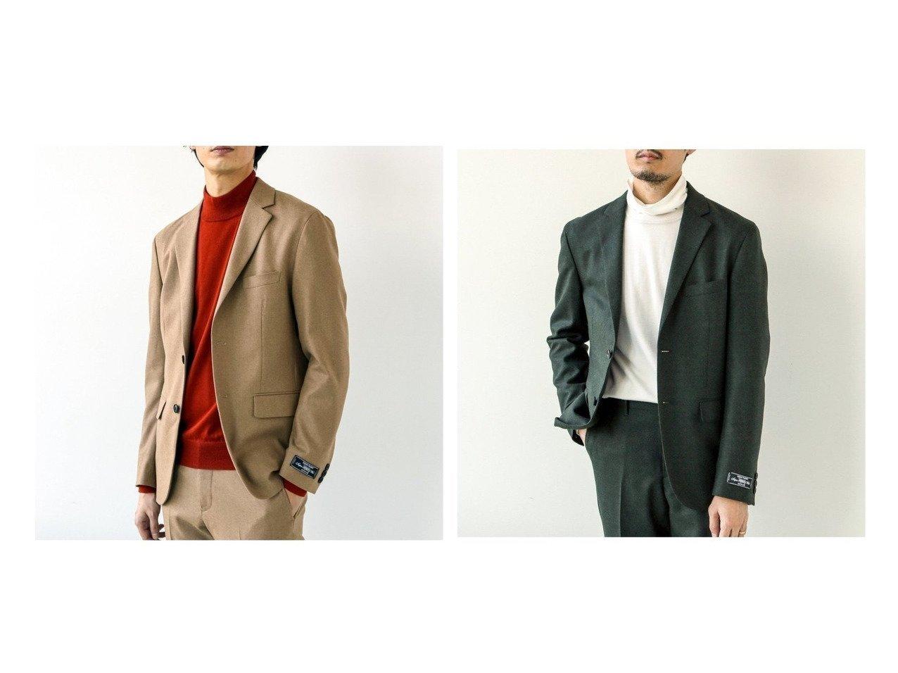 【EDIFICE / MEN/エディフィス】のTOPサキソニー 2BJK 【MEN】男性のおすすめ!人気トレンド・メンズファッションの通販 おすすめで人気の流行・トレンド、ファッションの通販商品 メンズファッション・キッズファッション・インテリア・家具・レディースファッション・服の通販 founy(ファニー) https://founy.com/ ファッション Fashion メンズファッション MEN ジャケット ストレッチ セットアップ  ID:crp329100000013221