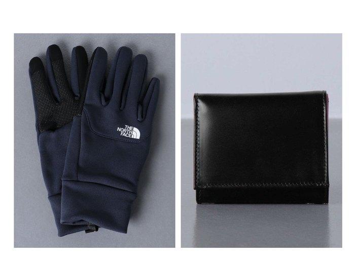 【UNITED ARROWS / MEN/ユナイテッドアローズ】のWhitehouseCox(ホワイトハウスコックス) S-11212トーンウォレット&⇔ THE NORTH FACE(ザ・ノースフェイス) Etip Glove 【MEN】男性のおすすめ!人気トレンド・メンズファッションの通販 おすすめファッション通販アイテム レディースファッション・服の通販 founy(ファニー) ファッション Fashion メンズファッション MEN アウトドア コンパクト シンプル ポケット 財布 |ID:crp329100000013224