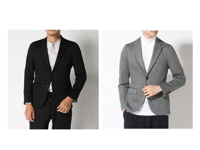 【EDIFICE / MEN/エディフィス】の120s Twジャージーセットアップ2BJK 【MEN】男性のおすすめ!人気トレンド・メンズファッションの通販 おすすめファッション通販アイテム インテリア・キッズ・メンズ・レディースファッション・服の通販 founy(ファニー) https://founy.com/ ファッション Fashion メンズファッション MEN セットアップ Setup Men ジャケット ジャージー ストレッチ スーツ セットアップ 無地  ID:crp329100000013225
