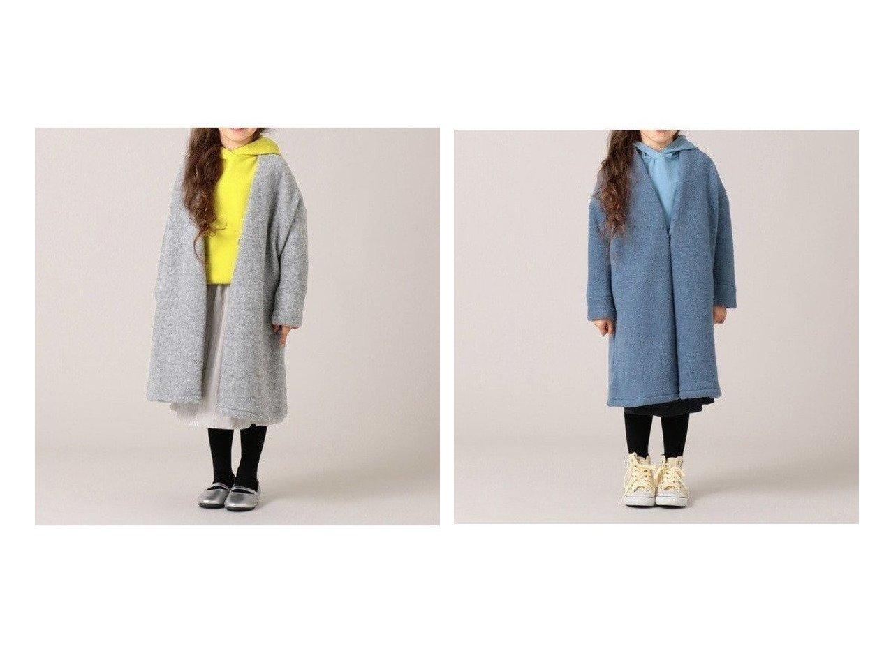 【KUMIKYOKU / KIDS/組曲】の【110-120 】ウールミックスジャージーアウター (番号KL43) 【KIDS】子供服のおすすめ!人気トレンド・キッズファッションの通販 おすすめで人気の流行・トレンド、ファッションの通販商品 メンズファッション・キッズファッション・インテリア・家具・レディースファッション・服の通販 founy(ファニー) https://founy.com/ ファッション Fashion キッズファッション KIDS アウター Coat Outerwear Kids エアリー 秋 Autumn/Fall カーディガン シンプル ジャケット スリット ベーシック ロング A/W 秋冬 AW Autumn/Winter / FW Fall-Winter 2020年 2020 2020-2021 秋冬 A/W AW Autumn/Winter / FW Fall-Winter 2020-2021 送料無料 Free Shipping  ID:crp329100000013248