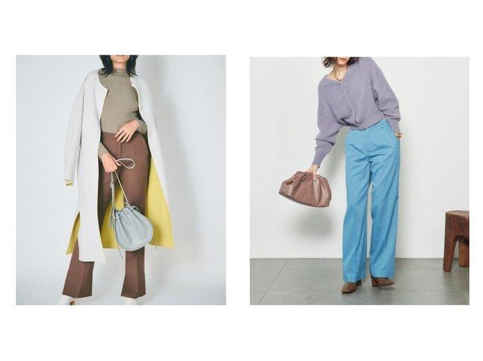 【FRAY I.D/フレイ アイディー】のストレートスリムパンツ&【SNIDEL/スナイデル】のカラーストレートパンツ パンツのおすすめ!人気、トレンド・レディースファッションの通販 おすすめファッション通販アイテム レディースファッション・服の通販 founy(ファニー) ファッション Fashion レディースファッション WOMEN パンツ Pants 10月号 シェイプ ジーンズ ストレート スリム フィット 雑誌 9月号 今季 シューズ シンプル センター フラット |ID:crp329100000013346
