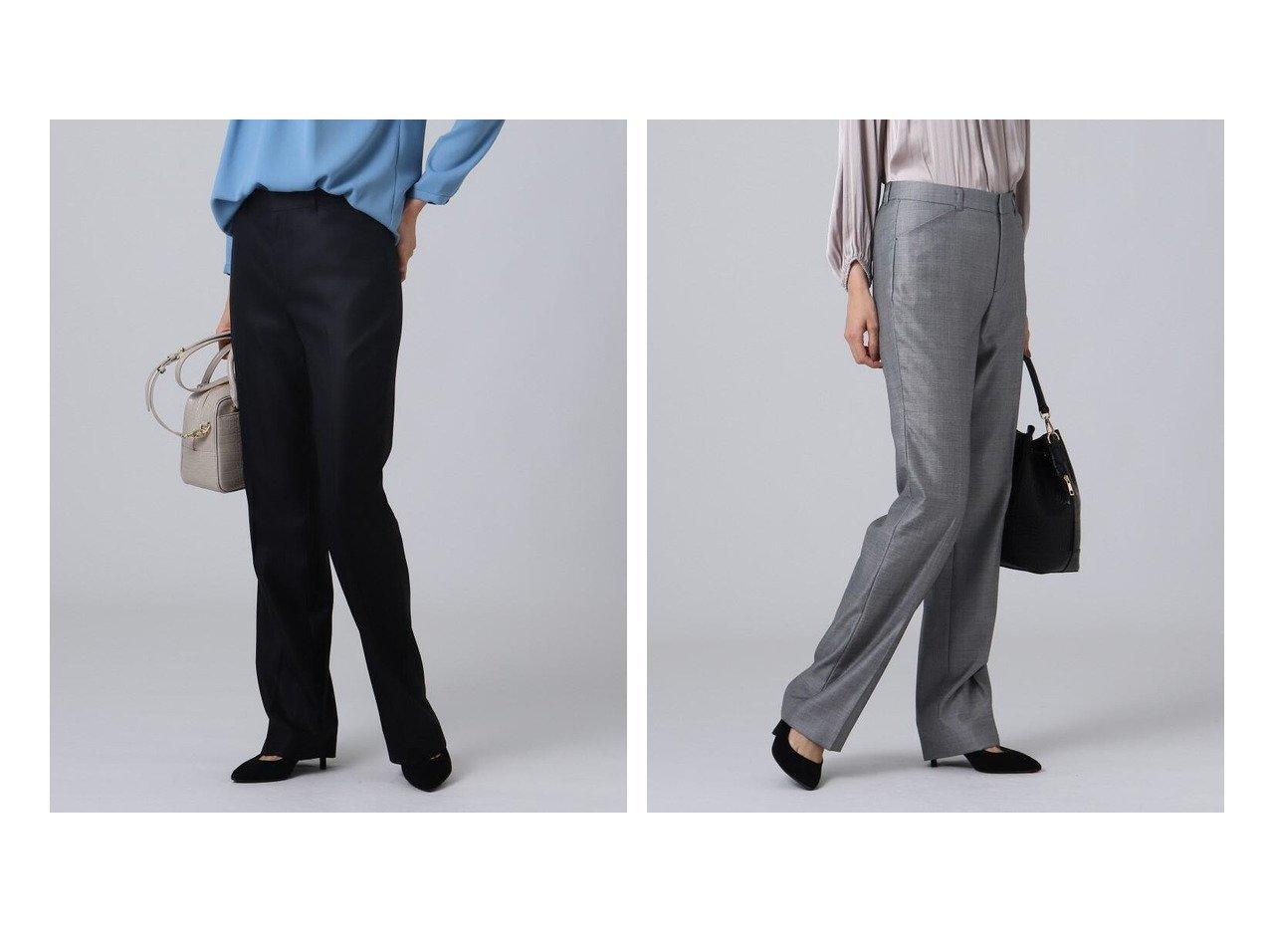 【UNTITLED/アンタイトル】の【抗菌防臭】モンテシャークスキンスラックスパンツ パンツのおすすめ!人気、トレンド・レディースファッションの通販 おすすめで人気の流行・トレンド、ファッションの通販商品 メンズファッション・キッズファッション・インテリア・家具・レディースファッション・服の通販 founy(ファニー) https://founy.com/ ファッション Fashion レディースファッション WOMEN パンツ Pants シルク ジャケット ストレート スラックス ポケット ミドル 抗菌 |ID:crp329100000013378