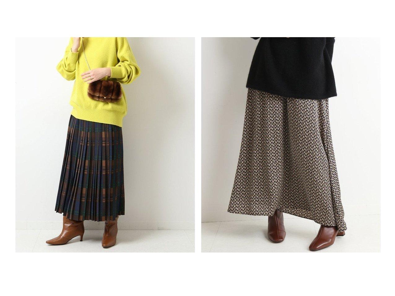 【SLOBE IENA/スローブ イエナ】の幾何学柄フレアスカート&【Spick & Span/スピック&スパン】の≪WEB限定≫チェックプリーツスカート スカートのおすすめ!人気、トレンド・レディースファッションの通販 おすすめで人気の流行・トレンド、ファッションの通販商品 メンズファッション・キッズファッション・インテリア・家具・レディースファッション・服の通販 founy(ファニー) https://founy.com/ ファッション Fashion レディースファッション WOMEN スカート Skirt プリーツスカート Pleated Skirts Aライン/フレアスカート Flared A-Line Skirts 2020年 2020 2020-2021 秋冬 A/W AW Autumn/Winter / FW Fall-Winter 2020-2021 A/W 秋冬 AW Autumn/Winter / FW Fall-Winter チェック パターン 再入荷 Restock/Back in Stock/Re Arrival シンプル フレア ロング |ID:crp329100000013383