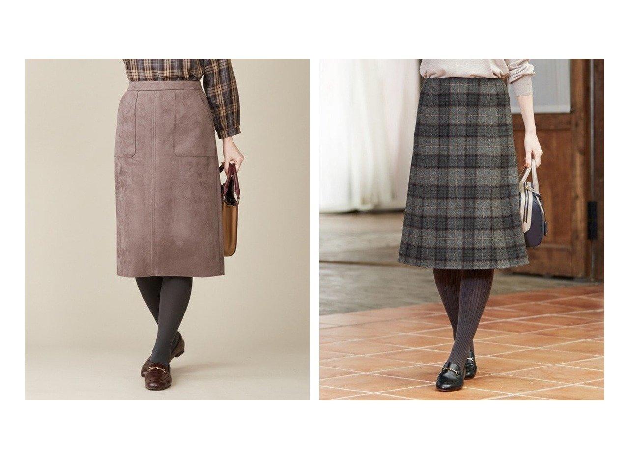 【J.PRESS/ジェイ プレス】の【リバーシブル】エアーファインウールリバーチェック スカート&【洗える】ウェードダンボール スカート スカートのおすすめ!人気、トレンド・レディースファッションの通販 おすすめで人気の流行・トレンド、ファッションの通販商品 メンズファッション・キッズファッション・インテリア・家具・レディースファッション・服の通販 founy(ファニー) https://founy.com/ ファッション Fashion レディースファッション WOMEN スカート Skirt NEW・新作・新着・新入荷 New Arrivals 送料無料 Free Shipping ジャケット スエード セットアップ バランス 冬 Winter 洗える チェック トレンド ドレープ フレア ミックス リバーシブル ロング 無地 軽量 |ID:crp329100000013387
