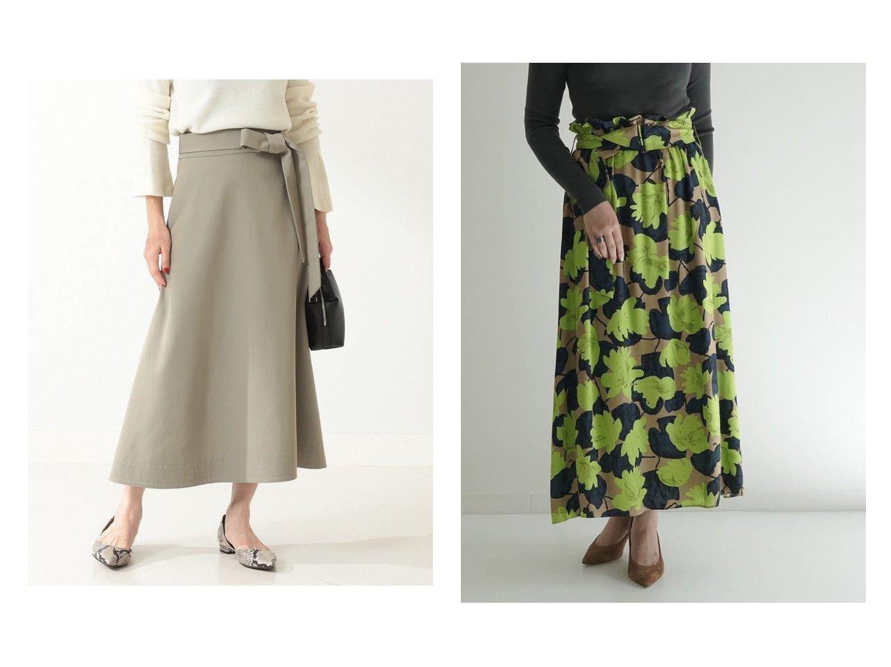 【TOMORROWLAND BALLSEY/トゥモローランド ボールジー】のロータスフラワープリント ベルテッドフレアスカート&【Demi-Luxe BEAMS/デミルクス ビームス】のDemi- ウール フレアスカート スカートのおすすめ!人気、トレンド・レディースファッションの通販 おすすめで人気の流行・トレンド、ファッションの通販商品 メンズファッション・キッズファッション・インテリア・家具・レディースファッション・服の通販 founy(ファニー) https://founy.com/ ファッション Fashion レディースファッション WOMEN スカート Skirt Aライン/フレアスカート Flared A-Line Skirts ロングスカート Long Skirt 台形スカート Trapezoid Skirt シャンブレー シンプル フレア ロング 2020年 2020 2020-2021 秋冬 A/W AW Autumn/Winter / FW Fall-Winter 2020-2021 A/W 秋冬 AW Autumn/Winter / FW Fall-Winter なめらか エレガント ギャザー クラシカル タンブラー フェミニン モダン 台形 |ID:crp329100000013409