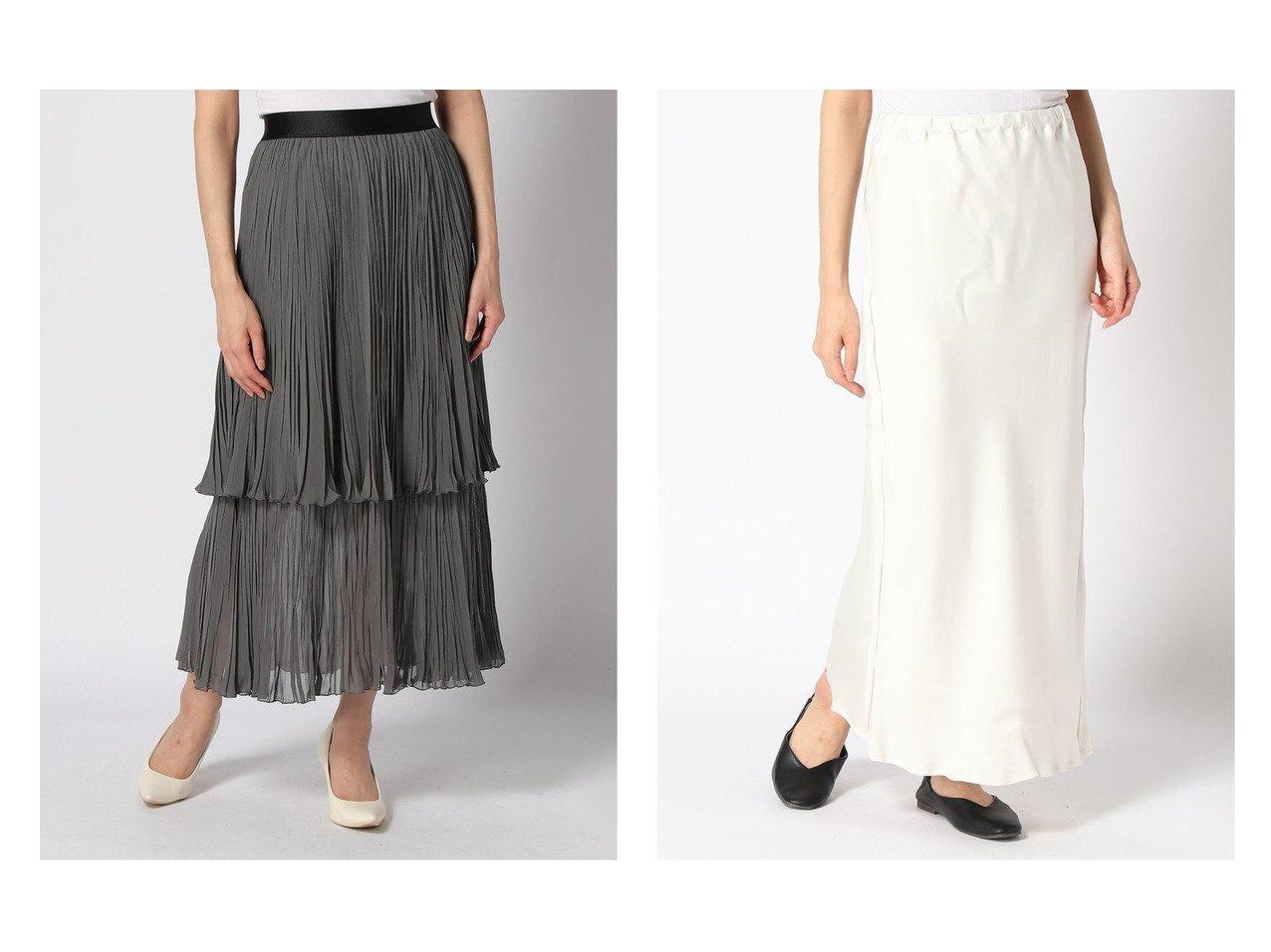 【Plage/プラージュ】のCuサテンSK Re&【Spick & Span/スピック&スパン】のティアードプリーツスカート スカートのおすすめ!人気、トレンド・レディースファッションの通販 おすすめで人気の流行・トレンド、ファッションの通販商品 メンズファッション・キッズファッション・インテリア・家具・レディースファッション・服の通販 founy(ファニー) https://founy.com/ ファッション Fashion レディースファッション WOMEN スカート Skirt プリーツスカート Pleated Skirts ロングスカート Long Skirt ギャザー ティアード ティアードスカート バランス フレア プリーツ ロング A/W 秋冬 AW Autumn/Winter / FW Fall-Winter 2020年 2020 2020-2021 秋冬 A/W AW Autumn/Winter / FW Fall-Winter 2020-2021 サテン シンプル 人気 再入荷 Restock/Back in Stock/Re Arrival |ID:crp329100000013411