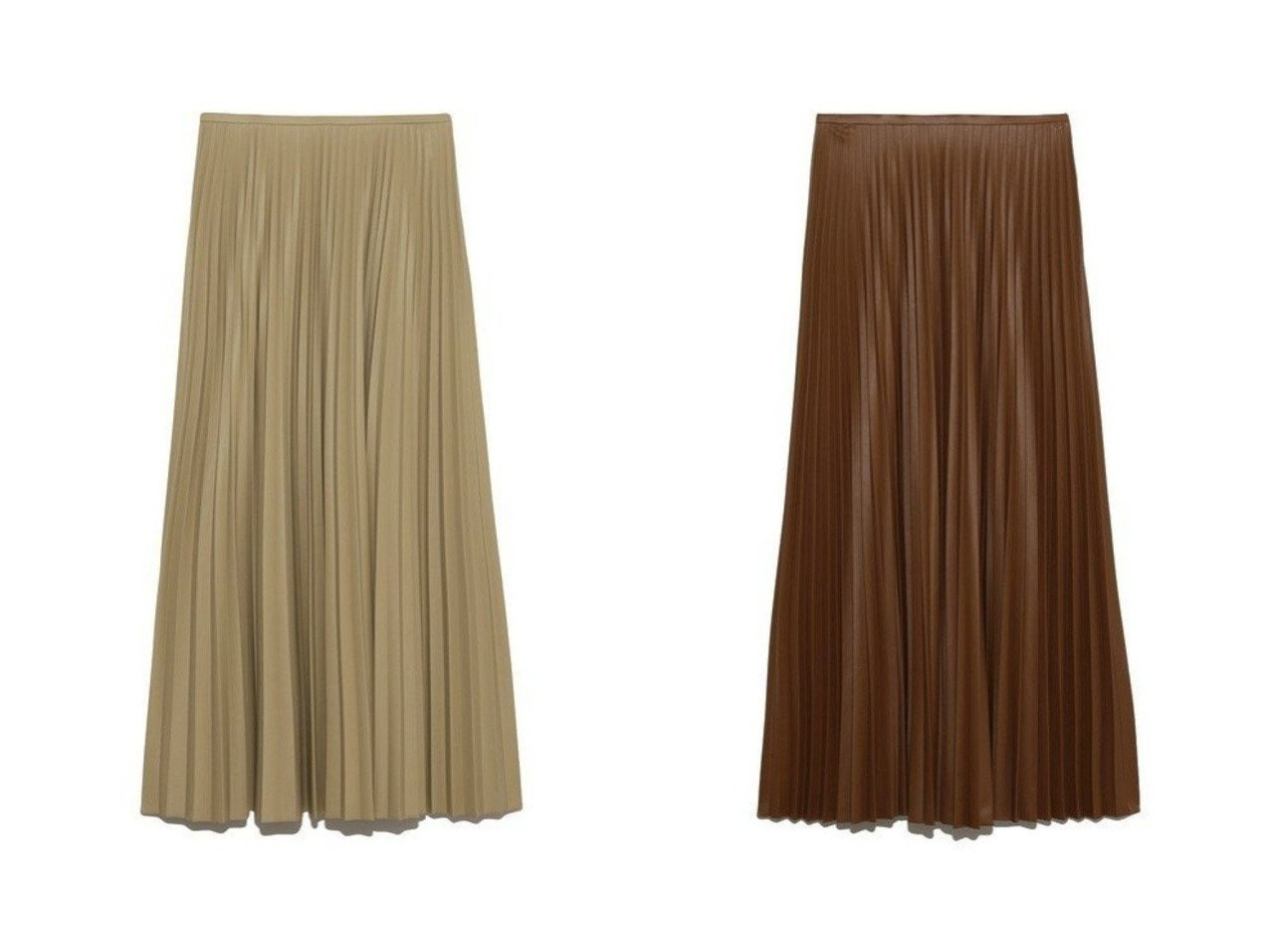 【Mila Owen/ミラオーウェン】のレザー見えプリーツマキシSK スカートのおすすめ!人気、トレンド・レディースファッションの通販 おすすめで人気の流行・トレンド、ファッションの通販商品 メンズファッション・キッズファッション・インテリア・家具・レディースファッション・服の通販 founy(ファニー) https://founy.com/ ファッション Fashion レディースファッション WOMEN スカート Skirt ロングスカート Long Skirt シンプル フェミニン プリーツ マキシ ミックス ロング |ID:crp329100000013418