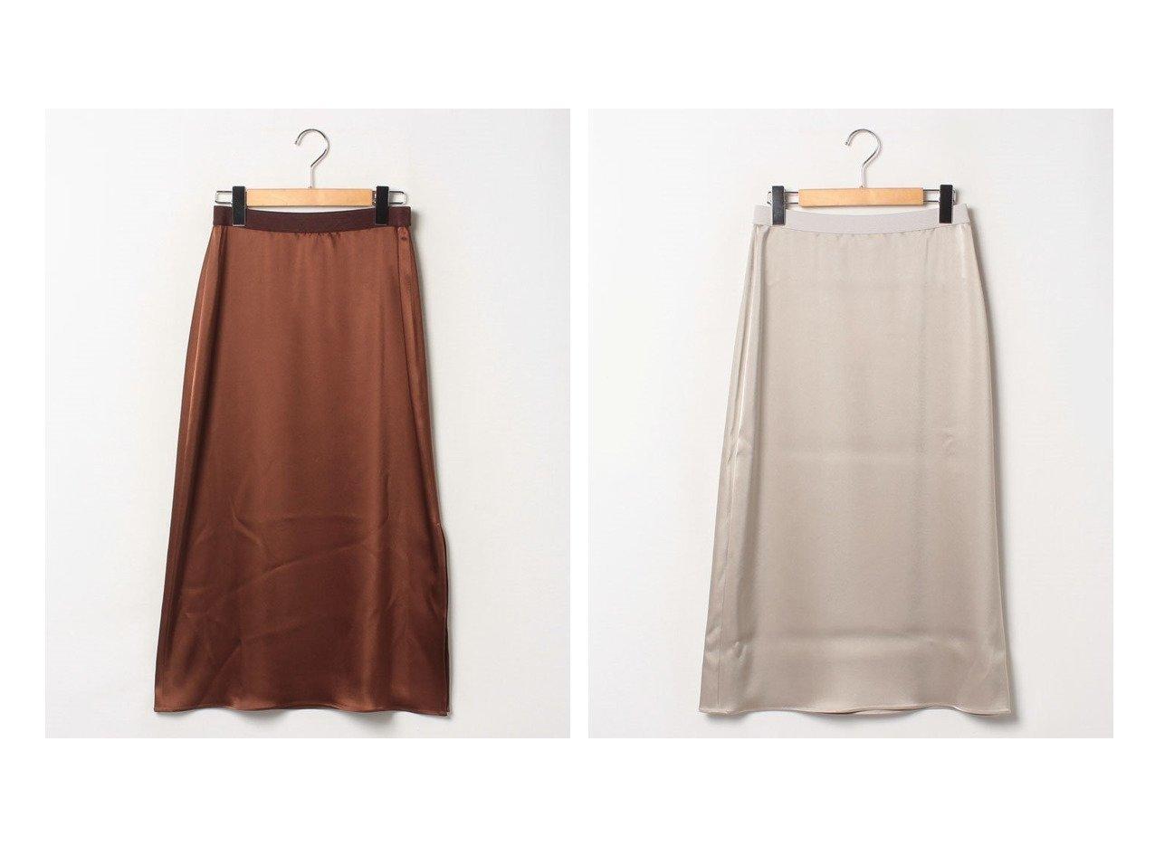 【theory/セオリー】のスカート FLAT SATEEN MAXI SLIP SKI スカートのおすすめ!人気、トレンド・レディースファッションの通販 おすすめで人気の流行・トレンド、ファッションの通販商品 メンズファッション・キッズファッション・インテリア・家具・レディースファッション・服の通販 founy(ファニー) https://founy.com/ ファッション Fashion レディースファッション WOMEN スカート Skirt Aライン/フレアスカート Flared A-Line Skirts エレガント ギャザー サテン シンプル スリット フレア マキシ |ID:crp329100000013423