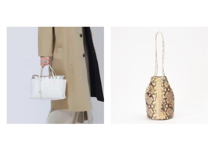 【LOWELL Things/ロウェル シングス】の【追加新色登場】スクエアセパレートミニトート&パイソンバケツバッグS バッグ・鞄のおすすめ!人気、トレンド・レディースファッションの通販 おすすめファッション通販アイテム インテリア・キッズ・メンズ・レディースファッション・服の通販 founy(ファニー) https://founy.com/ ファッション Fashion レディースファッション WOMEN バッグ Bag オレンジ 春 Spring クール コンパクト シンプル スカーフ スマホ 財布 チャーム 定番 Standard 人気 パイソン フェミニン ポケット エレガント 巾着 手帳 ハンドバッグ バケツ フォルム ポーチ ミラノ ラップ レギュラー |ID:crp329100000013465