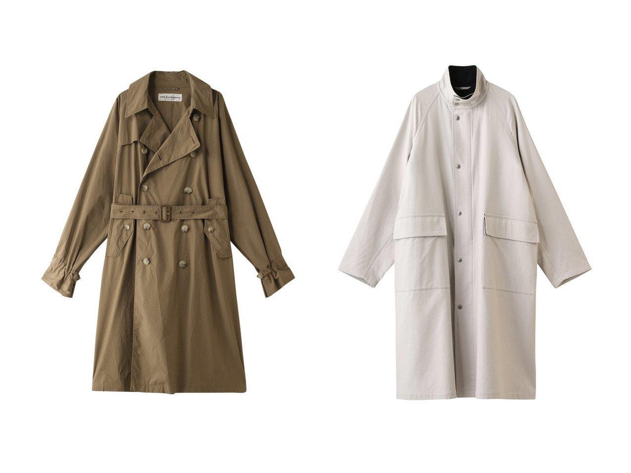 【YLEVE/イレーヴ】のオーガニックコットンツイルコート&【Shinzone/シンゾーン】のトラベルコート アウターのおすすめ!人気、トレンド・レディースファッションの通販 おすすめで人気の流行・トレンド、ファッションの通販商品 メンズファッション・キッズファッション・インテリア・家具・レディースファッション・服の通販 founy(ファニー) https://founy.com/ ファッション Fashion レディースファッション WOMEN アウター Coat Outerwear コート Coats 2021年 2021 2021 春夏 S/S SS Spring/Summer 2021 S/S 春夏 SS Spring/Summer ミリタリー ロング 春 Spring |ID:crp329100000013467