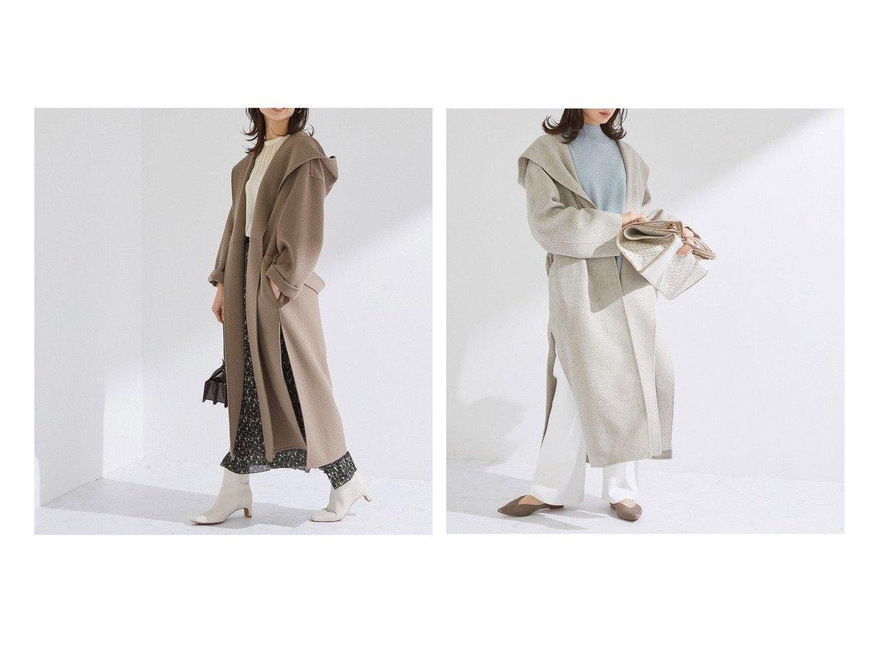 【ROPE/ロペ】のスリットリバーフーディーコート アウターのおすすめ!人気、トレンド・レディースファッションの通販 おすすめで人気の流行・トレンド、ファッションの通販商品 メンズファッション・キッズファッション・インテリア・家具・レディースファッション・服の通販 founy(ファニー) https://founy.com/ ファッション Fashion レディースファッション WOMEN アウター Coat Outerwear コート Coats NEW・新作・新着・新入荷 New Arrivals スエード スリット ティアードスカート ハンド フォルム ポケット リラックス ロング 春 Spring |ID:crp329100000013473
