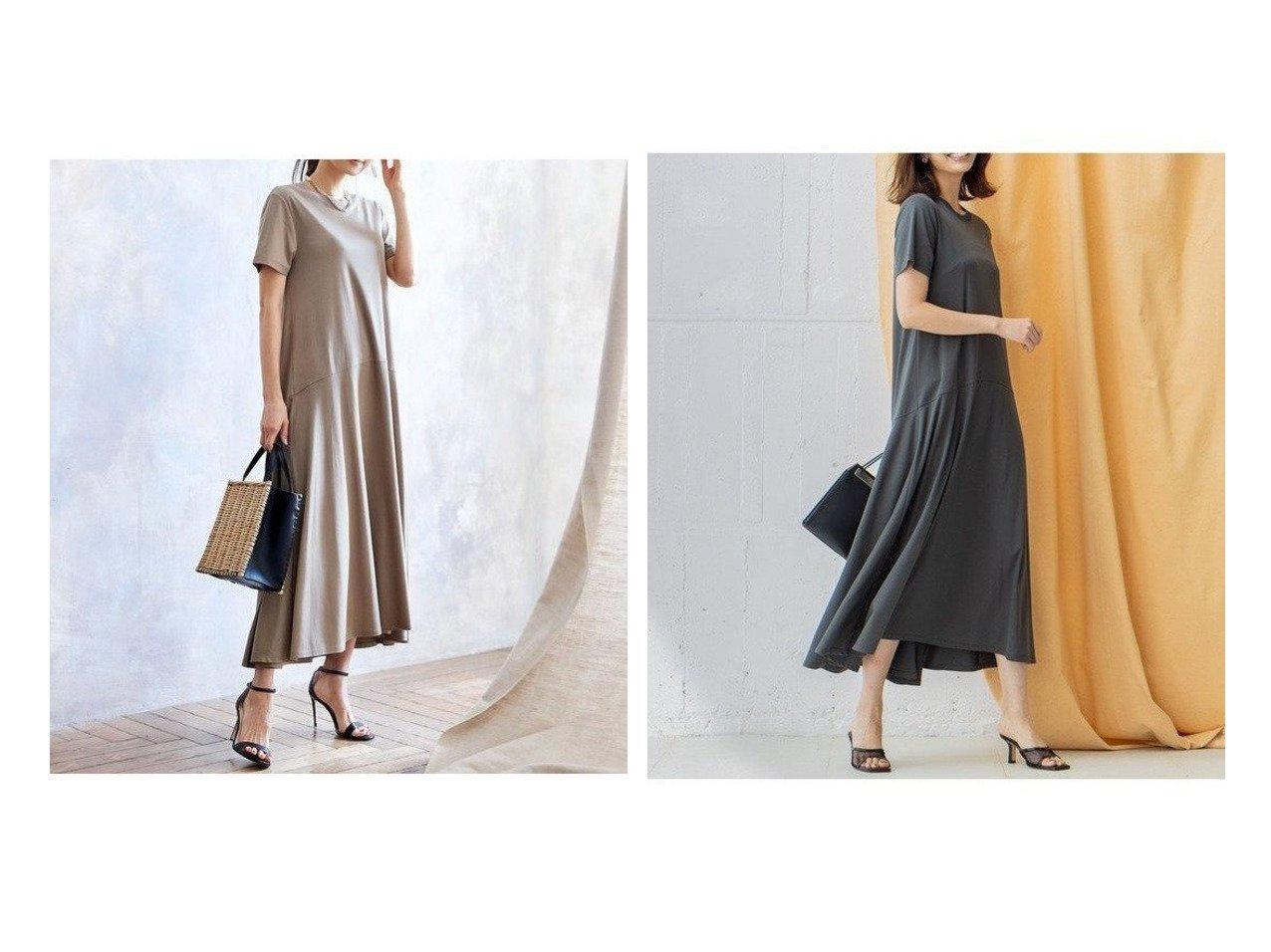 【iCB/アイシービー】のSmooth カットソーワンピース ワンピース・ドレスのおすすめ!人気、トレンド・レディースファッションの通販 おすすめで人気の流行・トレンド、ファッションの通販商品 メンズファッション・キッズファッション・インテリア・家具・レディースファッション・服の通販 founy(ファニー) https://founy.com/ ファッション Fashion レディースファッション WOMEN ワンピース Dress アクセサリー カッティング 吸水 ジャージー フォルム ベーシック リラックス 送料無料 Free Shipping |ID:crp329100000013485