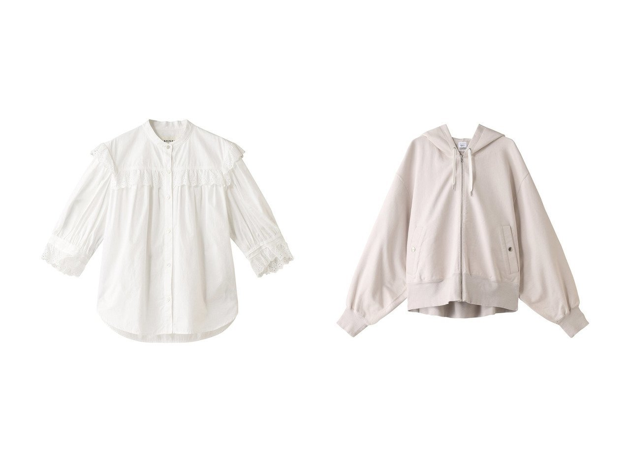【Shinzone/シンゾーン】のコットンフリルブラウス&プレンティーコットンフーディー トップス・カットソーのおすすめ!人気、トレンド・レディースファッションの通販 おすすめで人気の流行・トレンド、ファッションの通販商品 メンズファッション・キッズファッション・インテリア・家具・レディースファッション・服の通販 founy(ファニー) https://founy.com/ ファッション Fashion レディースファッション WOMEN トップス Tops Tshirt シャツ/ブラウス Shirts Blouses パーカ Sweats ロング / Tシャツ T-Shirts スウェット Sweat カットソー Cut and Sewn 2021年 2021 2021 春夏 S/S SS Spring/Summer 2021 S/S 春夏 SS Spring/Summer シンプル パーカー リラックス 今季 春 Spring  ID:crp329100000013494