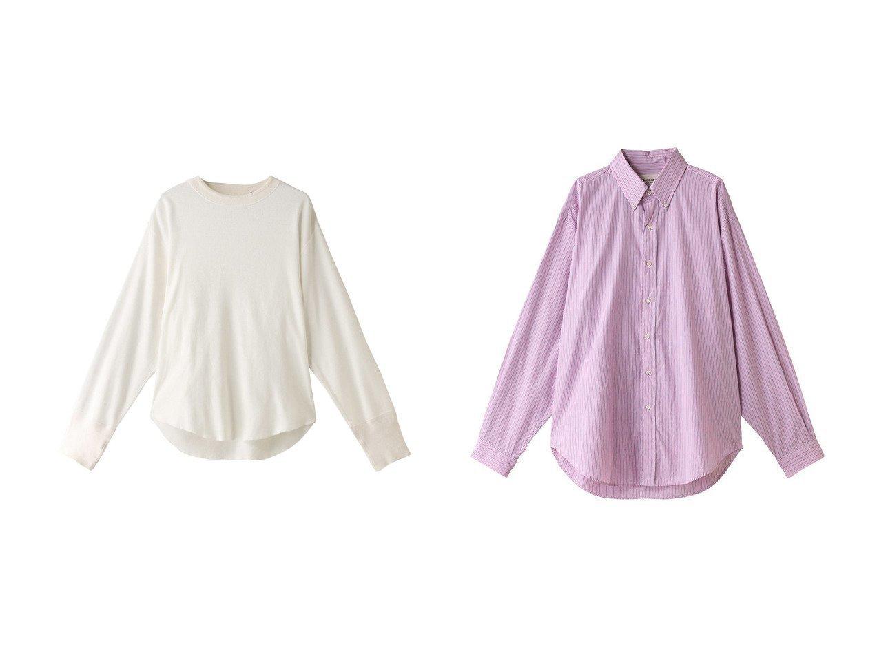 【Shinzone/シンゾーン】のコットンミリタリープルオーバー&DADDY ストライプコットンシャツ トップス・カットソーのおすすめ!人気、トレンド・レディースファッションの通販 おすすめで人気の流行・トレンド、ファッションの通販商品 メンズファッション・キッズファッション・インテリア・家具・レディースファッション・服の通販 founy(ファニー) https://founy.com/ ファッション Fashion レディースファッション WOMEN トップス Tops Tshirt シャツ/ブラウス Shirts Blouses ロング / Tシャツ T-Shirts プルオーバー Pullover カットソー Cut and Sewn 2021年 2021 2021 春夏 S/S SS Spring/Summer 2021 S/S 春夏 SS Spring/Summer ストライプ スリーブ ロング 春 Spring シンプル 長袖  ID:crp329100000013495