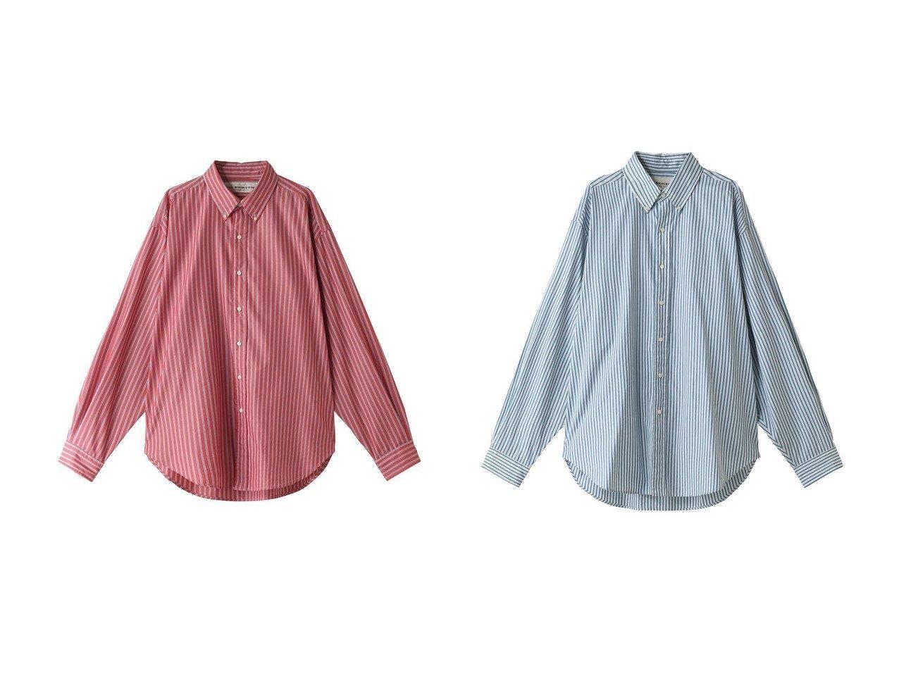 【Shinzone/シンゾーン】のDADDY ストライプコットンシャツ&DADDY ストライプシャツ トップス・カットソーのおすすめ!人気、トレンド・レディースファッションの通販 おすすめで人気の流行・トレンド、ファッションの通販商品 メンズファッション・キッズファッション・インテリア・家具・レディースファッション・服の通販 founy(ファニー) https://founy.com/ ファッション Fashion レディースファッション WOMEN トップス Tops Tshirt シャツ/ブラウス Shirts Blouses 2021年 2021 2021 春夏 S/S SS Spring/Summer 2021 S/S 春夏 SS Spring/Summer ストライプ スリーブ ロング 春 Spring  ID:crp329100000013497