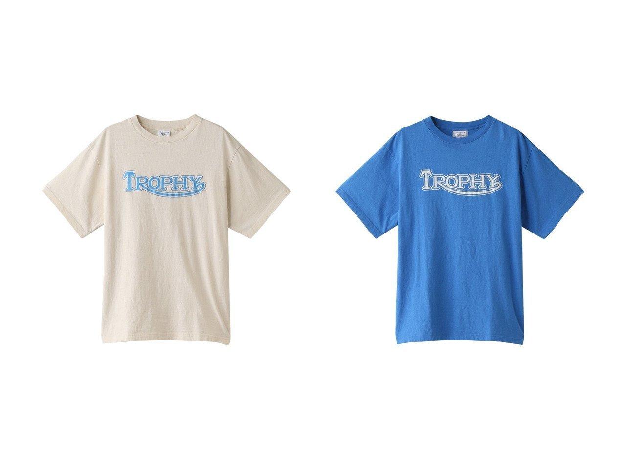 【Shinzone/シンゾーン】のTROPHY Tシャツ トップス・カットソーのおすすめ!人気、トレンド・レディースファッションの通販 おすすめで人気の流行・トレンド、ファッションの通販商品 メンズファッション・キッズファッション・インテリア・家具・レディースファッション・服の通販 founy(ファニー) https://founy.com/ ファッション Fashion レディースファッション WOMEN トップス Tops Tshirt シャツ/ブラウス Shirts Blouses ロング / Tシャツ T-Shirts カットソー Cut and Sewn 2021年 2021 2021 春夏 S/S SS Spring/Summer 2021 S/S 春夏 SS Spring/Summer ショート シンプル スリーブ 半袖 春 Spring  ID:crp329100000013498