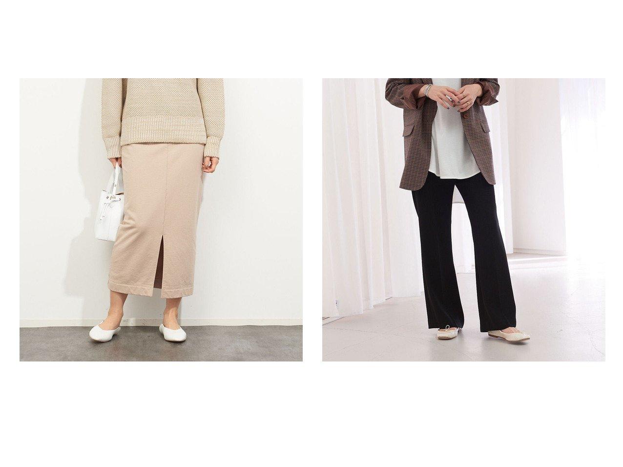 【Rouge vif la cle/ルージュヴィフラクレ】の【MICA&DEAL】WEB限定ウォッシュ加工タイトスカート&【WEB&一部店舗限定】イージーフレアパンツ 別注・限定・コラボなど、おすすめ!人気トレンド・レディースファッション通販 おすすめで人気の流行・トレンド、ファッションの通販商品 メンズファッション・キッズファッション・インテリア・家具・レディースファッション・服の通販 founy(ファニー) https://founy.com/ ファッション Fashion レディースファッション WOMEN スカート Skirt パンツ Pants ウォッシュ カットソー スリット セットアップ タイトスカート トレンド A/W 秋冬 AW Autumn/Winter / FW Fall-Winter フレア |ID:crp329100000013609