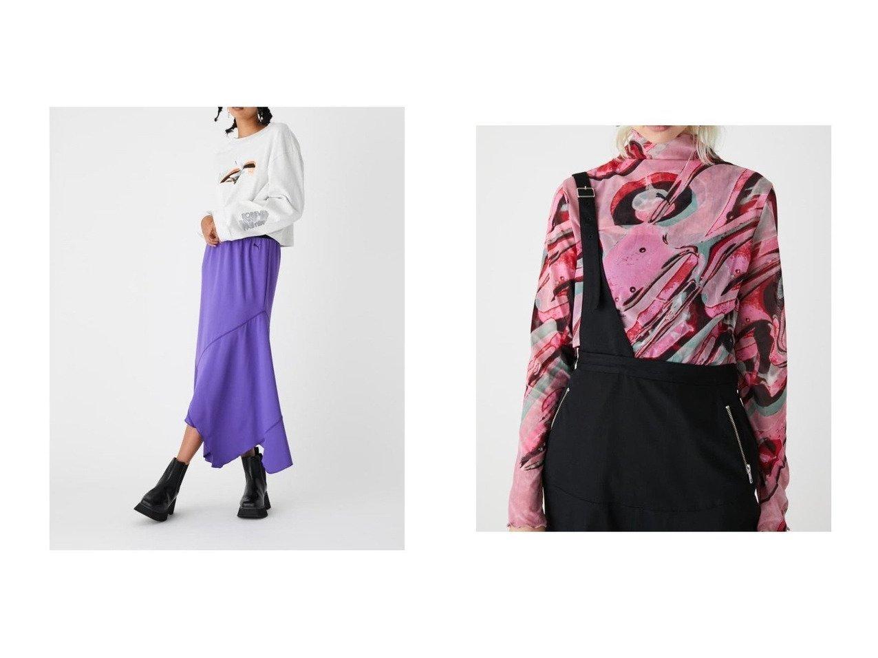 【SLY/スライ】のPUMA x SLY ASYMMETRY FLARE スカート&PUMA x SLY SAP SHEER トップス 別注・限定・コラボなど、おすすめ!人気トレンド・レディースファッション通販 おすすめで人気の流行・トレンド、ファッションの通販商品 メンズファッション・キッズファッション・インテリア・家具・レディースファッション・服の通販 founy(ファニー) https://founy.com/ ファッション Fashion レディースファッション WOMEN スカート Skirt トップス Tops Tshirt シャツ/ブラウス Shirts Blouses 2020年 2020 2020-2021 秋冬 A/W AW Autumn/Winter / FW Fall-Winter 2020-2021 A/W 秋冬 AW Autumn/Winter / FW Fall-Winter アシンメトリー コラボ インナー キャミソール グラフィック ストレッチ チュール 長袖  ID:crp329100000013648