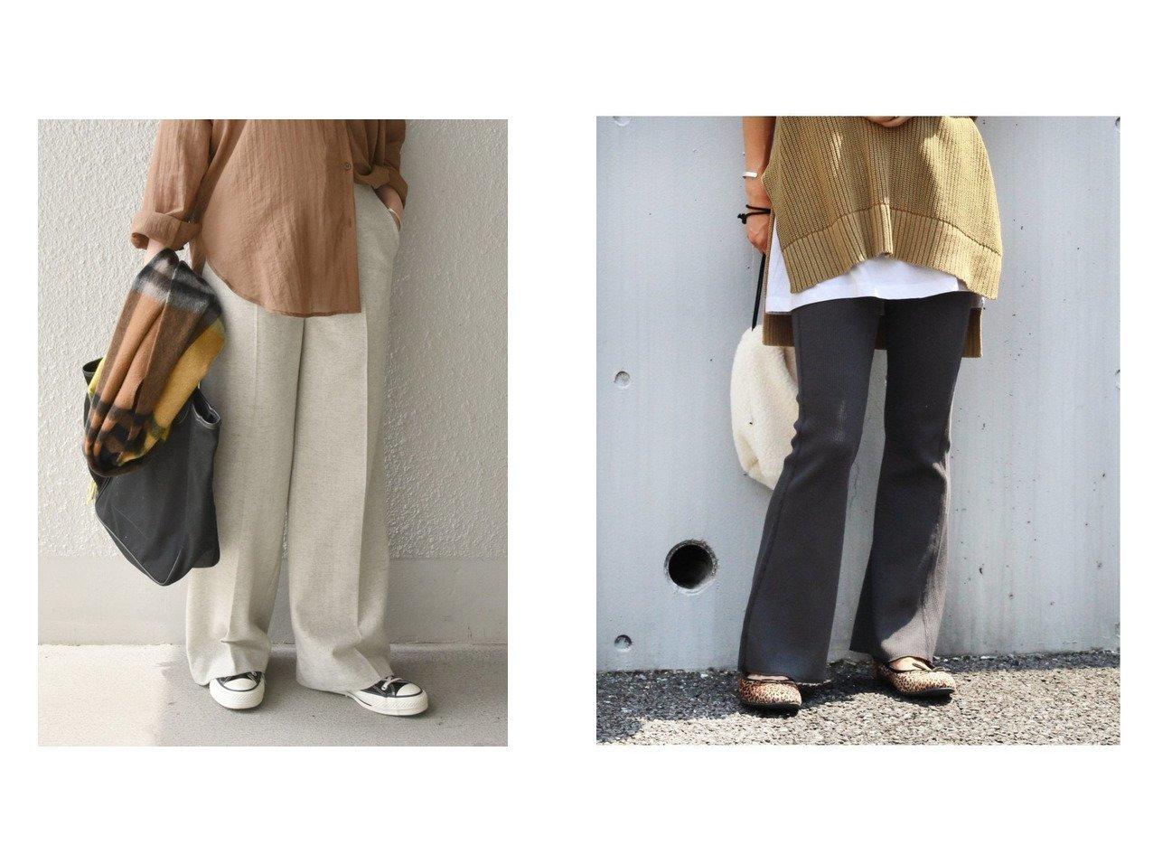 【JOURNAL STANDARD relume/ジャーナルスタンダード レリューム】のPu ワッフル EASY PT&【SHIPS any/シップス エニィ】のSHIPS any エコウールワイドパンツ パンツのおすすめ!人気、トレンド・レディースファッションの通販 おすすめで人気の流行・トレンド、ファッションの通販商品 メンズファッション・キッズファッション・インテリア・家具・レディースファッション・服の通販 founy(ファニー) https://founy.com/ ファッション Fashion レディースファッション WOMEN パンツ Pants 2020年 2020 2020-2021 秋冬 A/W AW Autumn/Winter / FW Fall-Winter 2020-2021 A/W 秋冬 AW Autumn/Winter / FW Fall-Winter ジーンズ スウェット フィット フレア ポケット ワッフル 楽ちん ストレート センター ツイード ワイド |ID:crp329100000013656