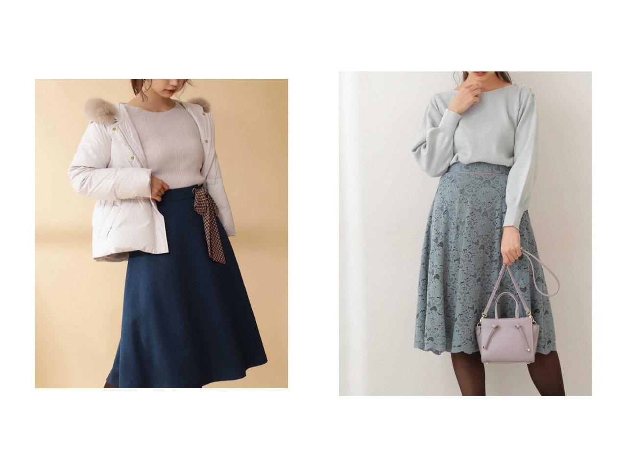 【PROPORTION BODY DRESSING/プロポーション ボディドレッシング】のチェックスカーフ付フレアスカート&ブラッシュレースフレアスカート スカートのおすすめ!人気、トレンド・レディースファッションの通販 おすすめで人気の流行・トレンド、ファッションの通販商品 メンズファッション・キッズファッション・インテリア・家具・レディースファッション・服の通販 founy(ファニー) https://founy.com/ ファッション Fashion レディースファッション WOMEN スカート Skirt Aライン/フレアスカート Flared A-Line Skirts フレア レース 冬 Winter スカーフ チェック ミモレ |ID:crp329100000013675