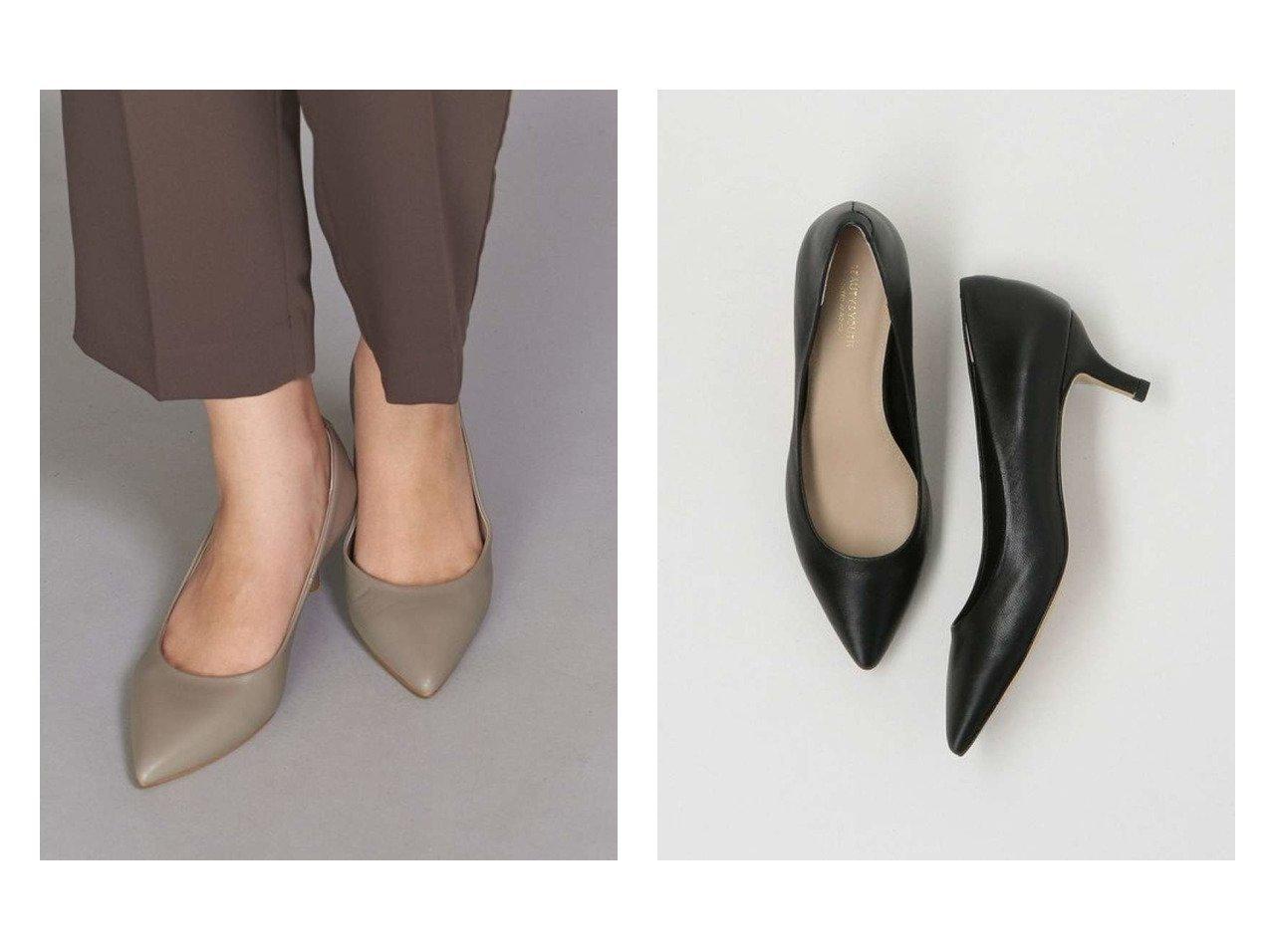 【BEAUTY&YOUTH UNITED ARROWS/ビューティアンド ユースユナイテッドアローズ】のBY レザーポインテッドパンプス シューズ・靴のおすすめ!人気、トレンド・レディースファッションの通販 おすすめで人気の流行・トレンド、ファッションの通販商品 メンズファッション・キッズファッション・インテリア・家具・レディースファッション・服の通販 founy(ファニー) https://founy.com/ ファッション Fashion レディースファッション WOMEN クッション シューズ シンプル フェミニン ミドル 人気 定番 Standard |ID:crp329100000013682