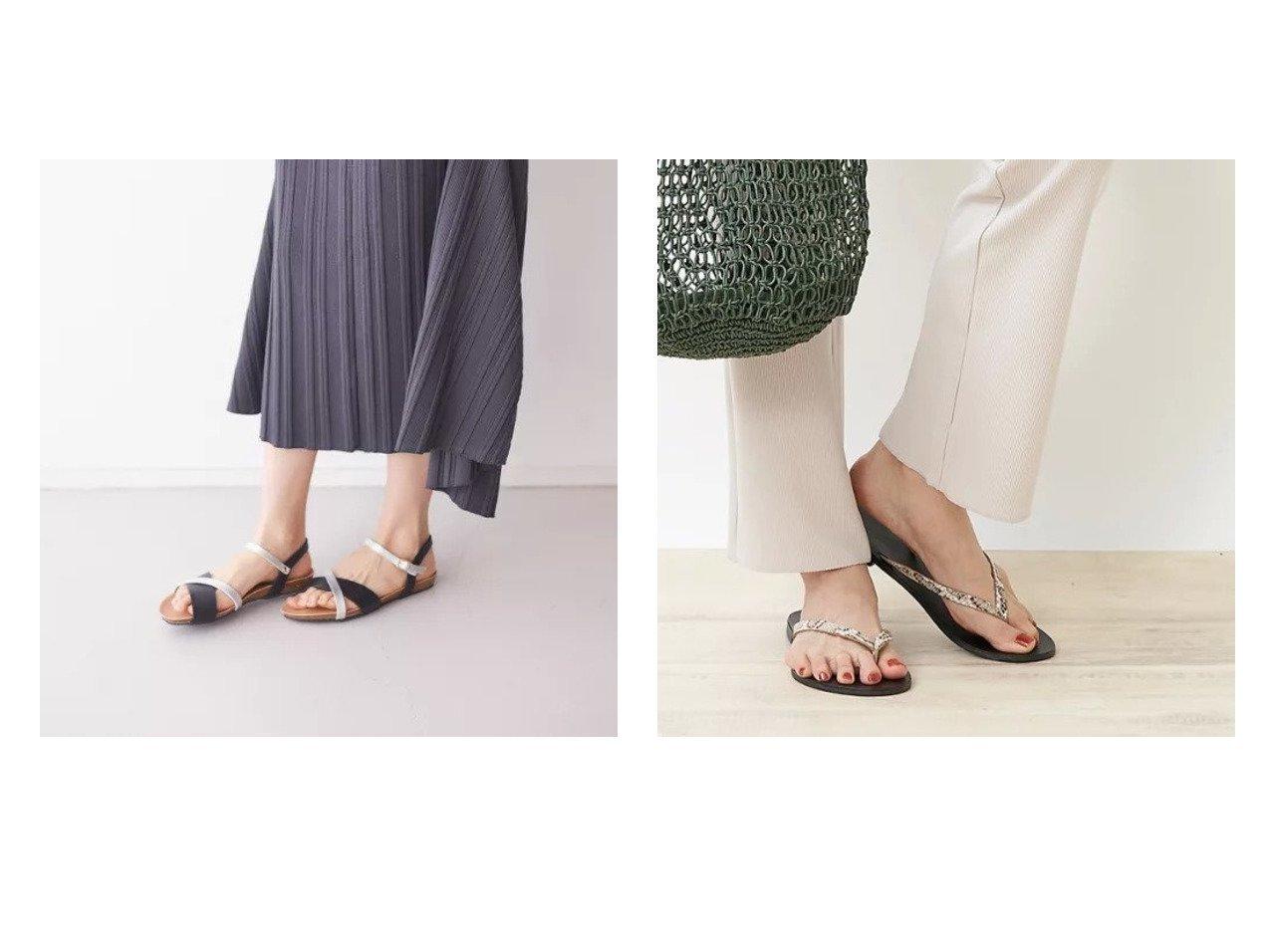 【Rouge vif/ルージュ ヴィフ】のPLAKTON クロスベルトサンダル&【NICOLAS LAINAS】スネークトングサンダル シューズ・靴のおすすめ!人気、トレンド・レディースファッションの通販 おすすめで人気の流行・トレンド、ファッションの通販商品 メンズファッション・キッズファッション・インテリア・家具・レディースファッション・服の通販 founy(ファニー) https://founy.com/ ファッション Fashion レディースファッション WOMEN ベルト Belts サンダル シューズ デニム |ID:crp329100000013685