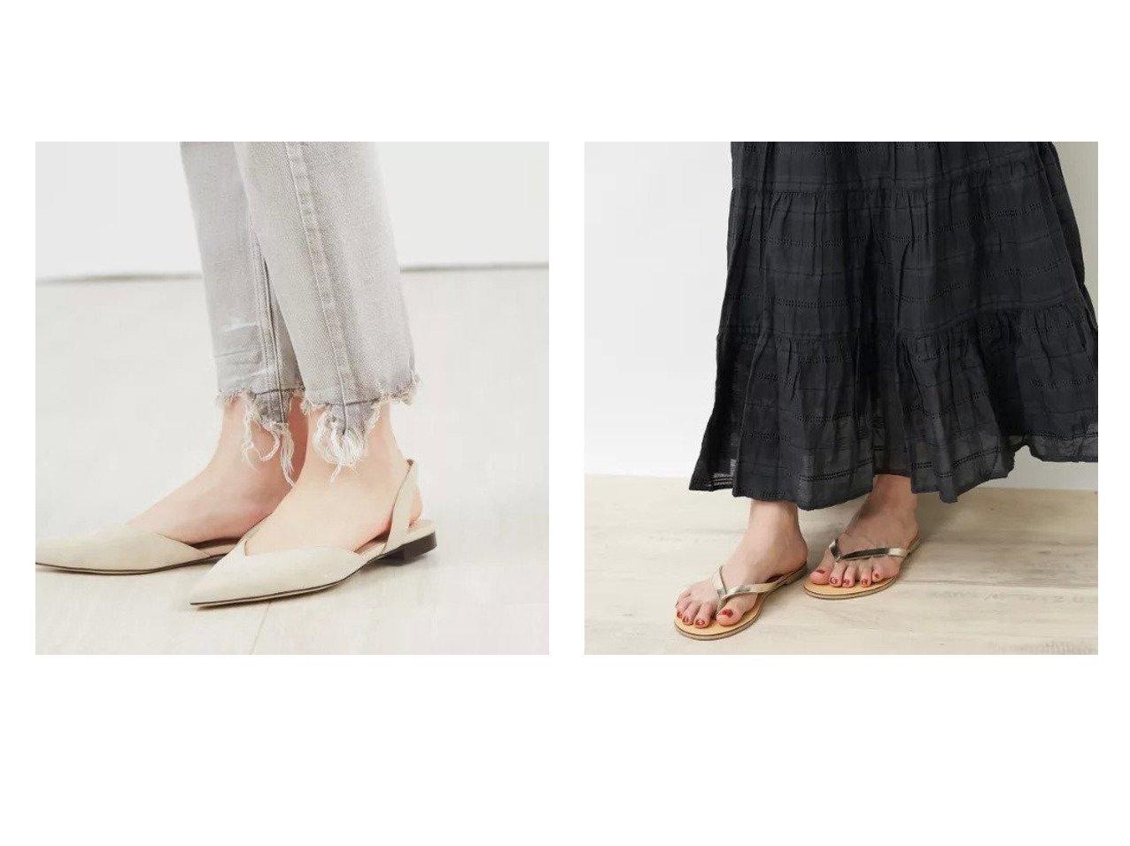【Rouge vif/ルージュ ヴィフ】の【NICOLAS LAINAS】トングサンダル&バックストラップフラット シューズ・靴のおすすめ!人気、トレンド・レディースファッションの通販 おすすめで人気の流行・トレンド、ファッションの通販商品 メンズファッション・キッズファッション・インテリア・家具・レディースファッション・服の通販 founy(ファニー) https://founy.com/ ファッション Fashion レディースファッション WOMEN バッグ Bag サンダル シューズ デニム |ID:crp329100000013686