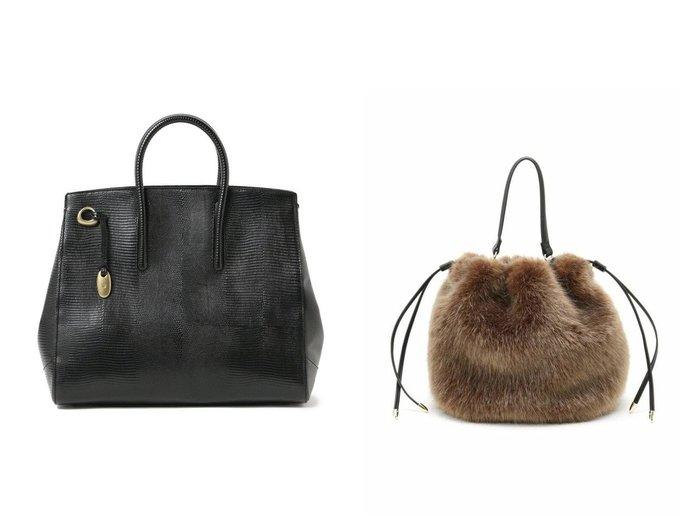 【UNTITLED/アンタイトル】のミニファー巾着バッグ&【Demi-Luxe BEAMS/デミルクス ビームス】のジョリーリザード トートバッグ L バッグ・鞄のおすすめ!人気、トレンド・レディースファッションの通販 おすすめファッション通販アイテム インテリア・キッズ・メンズ・レディースファッション・服の通販 founy(ファニー) https://founy.com/ ファッション Fashion レディースファッション WOMEN バッグ Bag ハンドバッグ フェイクファー フォルム 巾着 ショルダー シンプル 人気 |ID:crp329100000013697