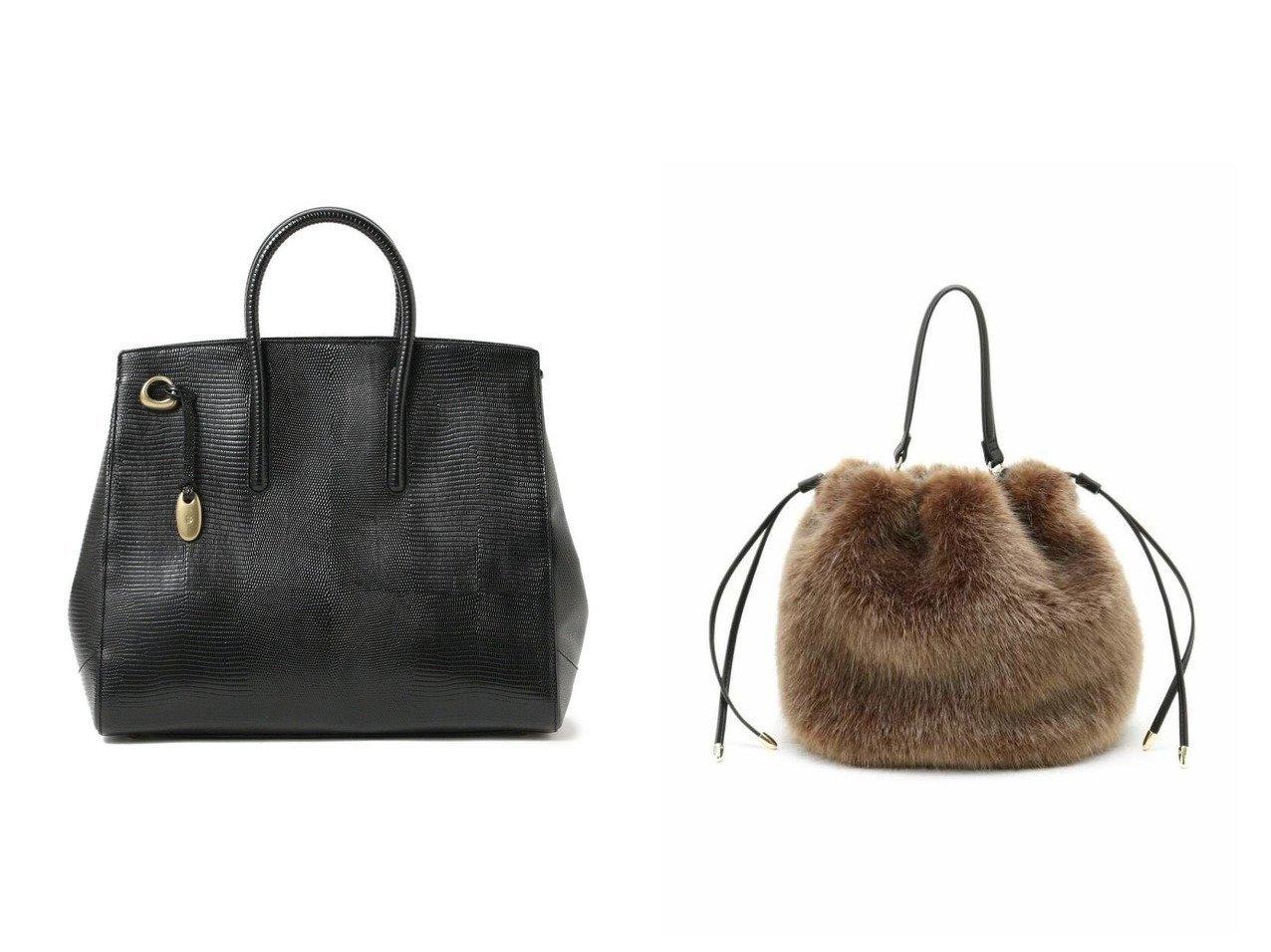 【UNTITLED/アンタイトル】のミニファー巾着バッグ&【Demi-Luxe BEAMS/デミルクス ビームス】のジョリーリザード トートバッグ L バッグ・鞄のおすすめ!人気、トレンド・レディースファッションの通販 おすすめで人気の流行・トレンド、ファッションの通販商品 メンズファッション・キッズファッション・インテリア・家具・レディースファッション・服の通販 founy(ファニー) https://founy.com/ ファッション Fashion レディースファッション WOMEN バッグ Bag ハンドバッグ フェイクファー フォルム 巾着 ショルダー シンプル 人気 |ID:crp329100000013697