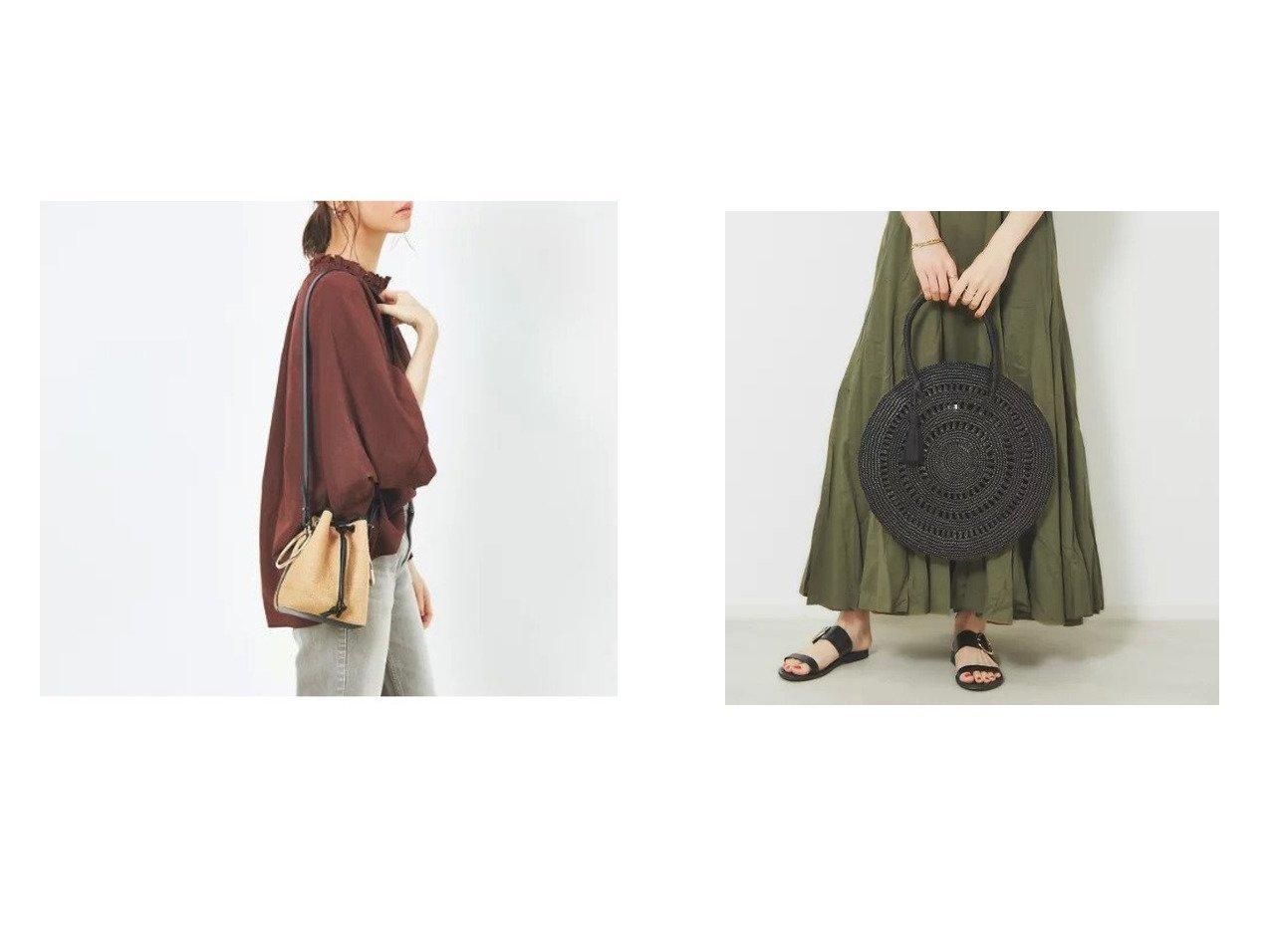 【Rouge vif/ルージュ ヴィフ】の【MAISON N.H PARIS】 サークルバッグM&【MAISON BOINET】ショルダーバッグ バッグ・鞄のおすすめ!人気、トレンド・レディースファッションの通販 おすすめで人気の流行・トレンド、ファッションの通販商品 メンズファッション・キッズファッション・インテリア・家具・レディースファッション・服の通販 founy(ファニー) https://founy.com/ ファッション Fashion レディースファッション WOMEN バッグ Bag サークル リゾート 人気 ハンドバッグ パイピング フランス メッシュ メンズ ラグジュアリー |ID:crp329100000013702