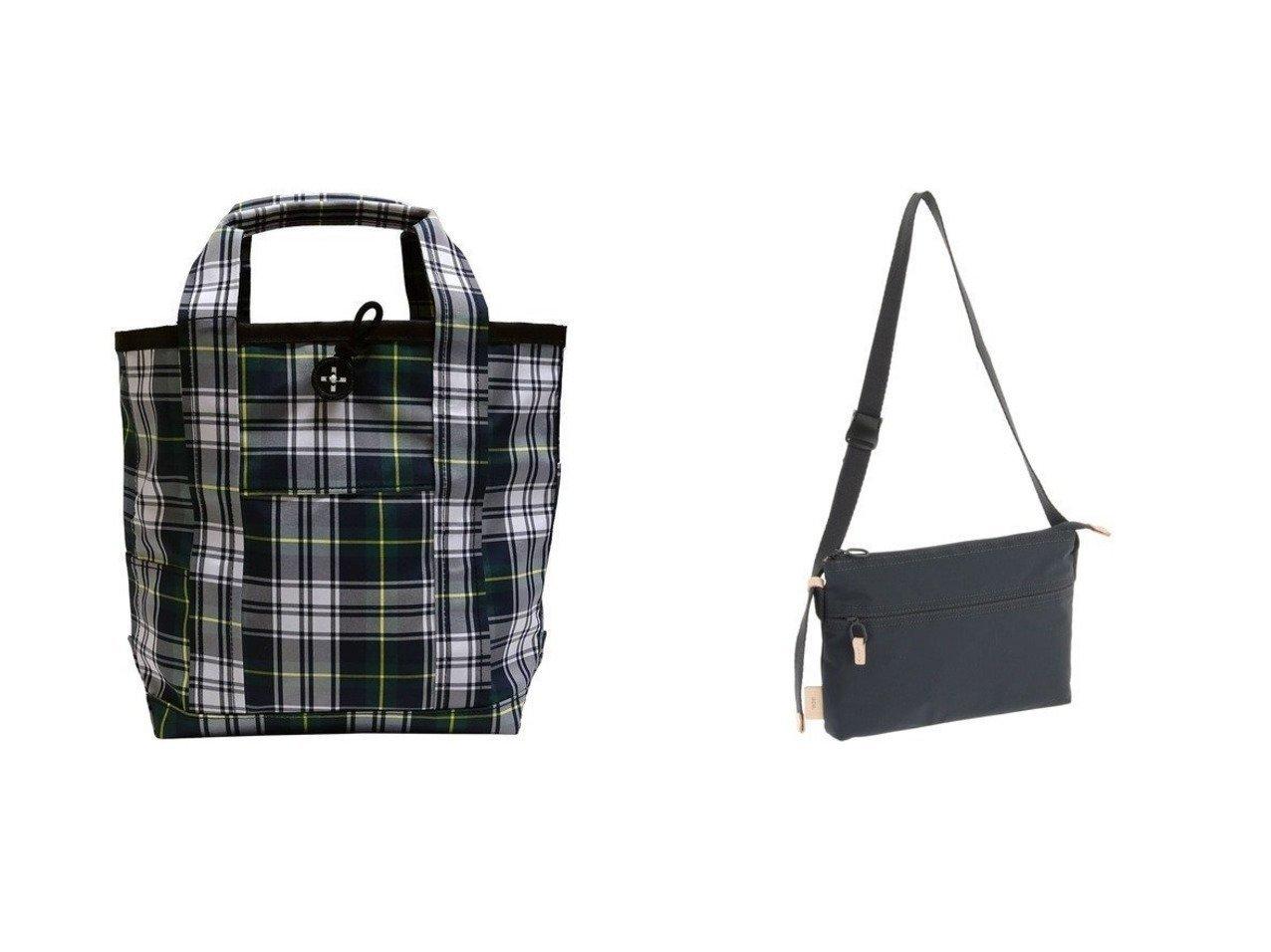【+RING/プラスリング】の撥水トートバッグM グリーンチェック SR183&【ACE BAGS & LUGGAGE/エースバッグズアンドラゲッジ】のace. エース ショルダーバッグ サコッシュ ちょっとしたお買い物や街歩 バッグ・鞄のおすすめ!人気、トレンド・レディースファッションの通販 おすすめで人気の流行・トレンド、ファッションの通販商品 メンズファッション・キッズファッション・インテリア・家具・レディースファッション・服の通販 founy(ファニー) https://founy.com/ ファッション Fashion レディースファッション WOMEN バッグ Bag 軽量 シンプル スマート 財布 トラベル フィット ポケット メッシュ 送料無料 Free Shipping チェック 傘 雑誌 |ID:crp329100000013707