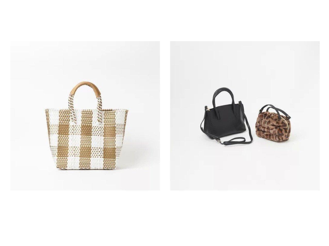 【Rouge vif/ルージュ ヴィフ】の4wayレザー ファートート&【 サンラミ】メルカドバッグ バッグ・鞄のおすすめ!人気、トレンド・レディースファッションの通販 おすすめで人気の流行・トレンド、ファッションの通販商品 メンズファッション・キッズファッション・インテリア・家具・レディースファッション・服の通販 founy(ファニー) https://founy.com/ ファッション Fashion レディースファッション WOMEN バッグ Bag チェック シンプル ハンドバッグ ポーチ ラップ レオパード 財布 |ID:crp329100000013712