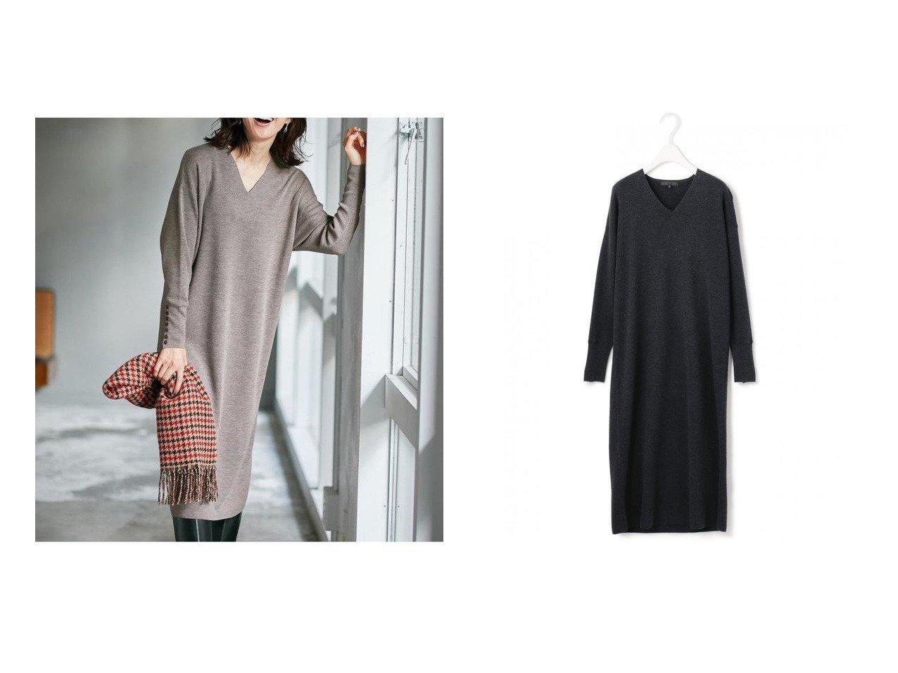 【iCB/アイシービー】のClearWool ニットワンピース ワンピース・ドレスのおすすめ!人気、トレンド・レディースファッションの通販 おすすめで人気の流行・トレンド、ファッションの通販商品 メンズファッション・キッズファッション・インテリア・家具・レディースファッション・服の通販 founy(ファニー) https://founy.com/ ファッション Fashion レディースファッション WOMEN ワンピース Dress ニットワンピース Knit Dresses 2020年 2020 2020-2021 秋冬 A/W AW Autumn/Winter / FW Fall-Winter 2020-2021 A/W 秋冬 AW Autumn/Winter / FW Fall-Winter ジャケット ストール チェック デコルテ バランス 楽ちん  ID:crp329100000013742