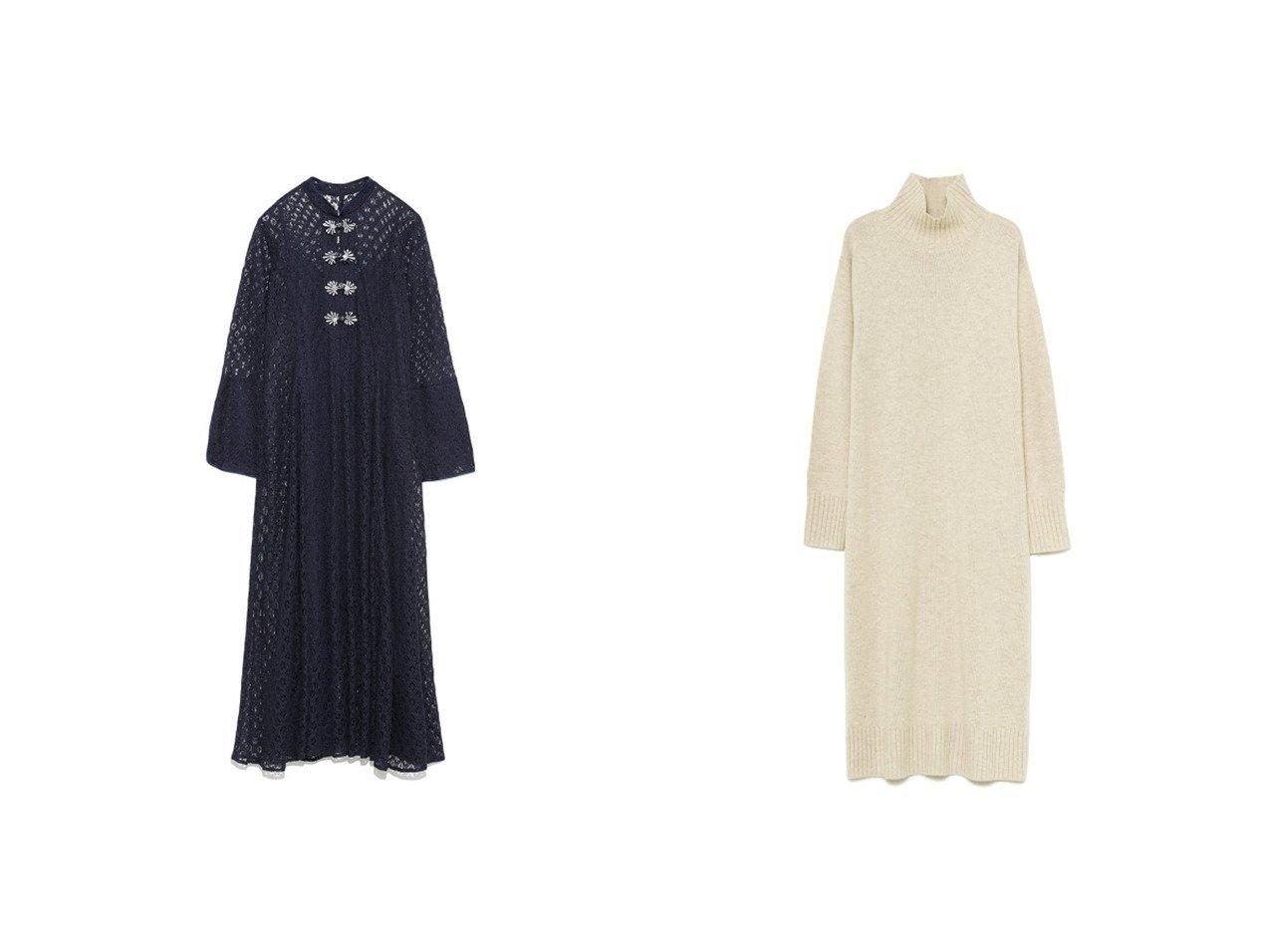 【FRAY I.D/フレイ アイディー】のニットワンピース&【Lily Brown/リリーブラウン】のチャイナレースワンピース ワンピース・ドレスのおすすめ!人気、トレンド・レディースファッションの通販 おすすめで人気の流行・トレンド、ファッションの通販商品 メンズファッション・キッズファッション・インテリア・家具・レディースファッション・服の通販 founy(ファニー) https://founy.com/ ファッション Fashion レディースファッション WOMEN ワンピース Dress ニットワンピース Knit Dresses インナー エレガント 春 Spring カフス スマート スリット 人気 バランス フレア ミックス レース 2021年 2021 S/S 春夏 SS Spring/Summer 2021 春夏 S/S SS Spring/Summer 2021 フォックス ブラウジング ベーシック リラックス A/W 秋冬 AW Autumn/Winter / FW Fall-Winter 2020年 2020 2020-2021 秋冬 A/W AW Autumn/Winter / FW Fall-Winter 2020-2021  ID:crp329100000013743