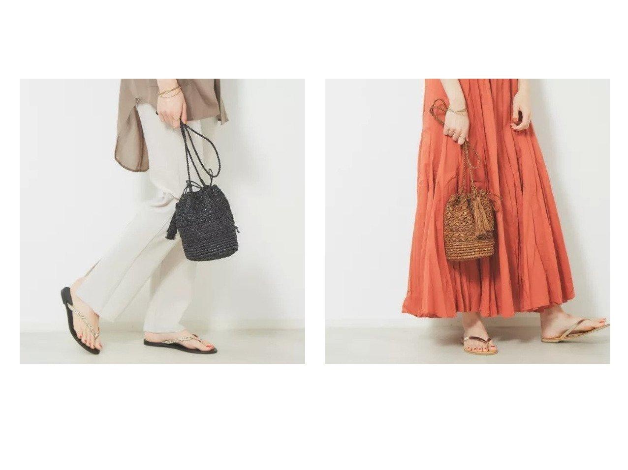 【Rouge vif/ルージュ ヴィフ】の【MAISON N.H PARIS】 Judith カゴ巾着 おすすめ!人気、トレンド・レディースファッションの通販 おすすめで人気の流行・トレンド、ファッションの通販商品 メンズファッション・キッズファッション・インテリア・家具・レディースファッション・服の通販 founy(ファニー) https://founy.com/ ファッション Fashion レディースファッション WOMEN リゾート 今季 巾着 |ID:crp329100000013885