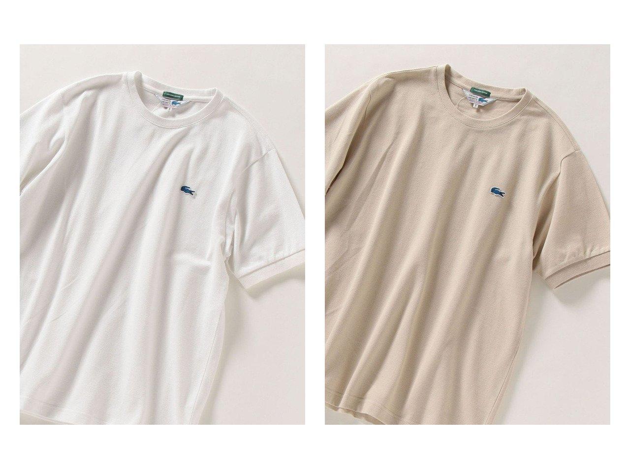 【SHIPS any / MEN/シップス エニィ】の【SHIPS any別注】LACOSTE PIQUE クルーネック Tシャツ 21SS 【MEN】別注・限定・コラボなど、おすすめ!人気トレンド・メンズファッション通販  おすすめで人気の流行・トレンド、ファッションの通販商品 メンズファッション・キッズファッション・インテリア・家具・レディースファッション・服の通販 founy(ファニー) https://founy.com/ ファッション Fashion メンズファッション MEN トップス Tops Tshirt Men シャツ Shirts インナー 春 Spring カットソー 鹿の子 トレンド 人気 フランス 別注 2020年 2020 2021年 2021 S/S 春夏 SS Spring/Summer 2020 春夏 S/S SS Spring/Summer 2020 2021 春夏 S/S SS Spring/Summer 2021 |ID:crp329100000013957