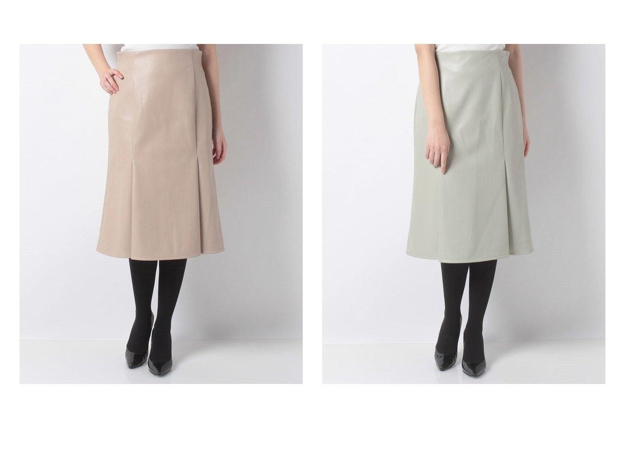 【ANAYI/アナイ】のエコレザーマーメイドスカート スカートのおすすめ!人気、トレンド・レディースファッションの通販 おすすめで人気の流行・トレンド、ファッションの通販商品 メンズファッション・キッズファッション・インテリア・家具・レディースファッション・服の通販 founy(ファニー) https://founy.com/ ファッション Fashion レディースファッション WOMEN スカート Skirt Aライン/フレアスカート Flared A-Line Skirts エレガント |ID:crp329100000014031