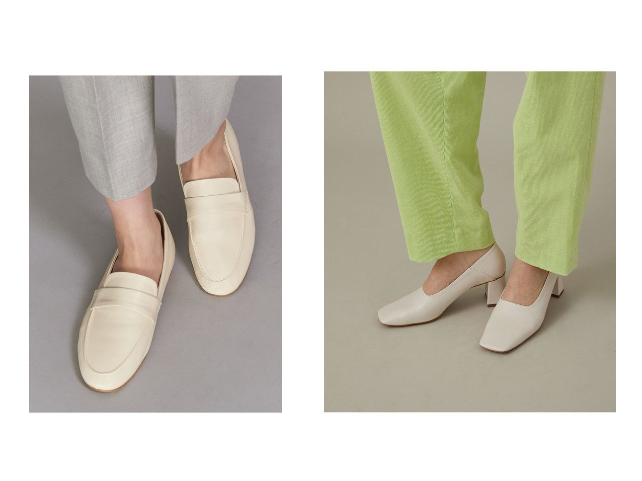 【BEAUTY&YOUTH UNITED ARROWS/ビューティアンド ユースユナイテッドアローズ】のBY レザーソフトローファー&【Adam et Rope/アダム エ ロペ】のブロックヒールスクエアシューズ シューズ・靴のおすすめ!人気、トレンド・レディースファッションの通販 おすすめで人気の流行・トレンド、ファッションの通販商品 メンズファッション・キッズファッション・インテリア・家具・レディースファッション・服の通販 founy(ファニー) https://founy.com/ ファッション Fashion レディースファッション WOMEN A/W 秋冬 AW Autumn/Winter / FW Fall-Winter シューズ フォルム ブロック 今季 定番 Standard ドレス  ID:crp329100000014032