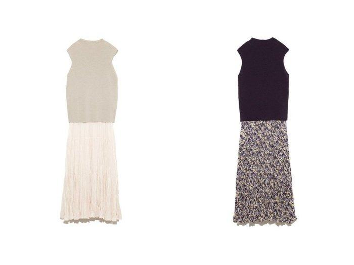 【Mila Owen/ミラオーウェン】のハイネックNTドッキングワッシャーOP ワンピース・ドレスのおすすめ!人気、トレンド・レディースファッションの通販 おすすめファッション通販アイテム インテリア・キッズ・メンズ・レディースファッション・服の通販 founy(ファニー) https://founy.com/ ファッション Fashion レディースファッション WOMEN ワンピース Dress マキシワンピース Maxi Dress ドッキング ノースリーブ ハイネック マキシ ロング ワッシャー |ID:crp329100000014057